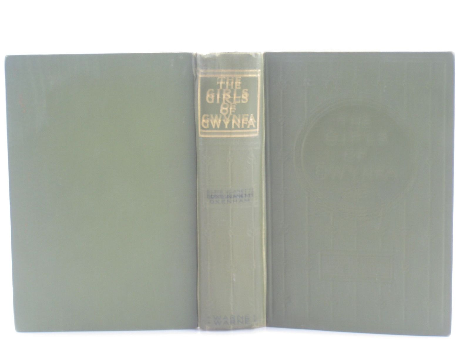 Photo of THE GIRLS OF GWYNFA written by Oxenham, Elsie J. published by Frederick Warne & Co Ltd. (STOCK CODE: 1501811)  for sale by Stella & Rose's Books