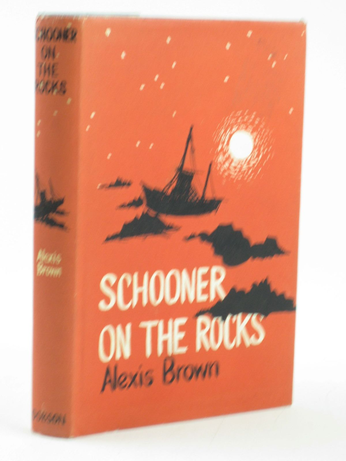 Photo of SCHOONER ON THE ROCKS written by Brown, Alexis illustrated by Armour, Jenifer published by Dennis Dobson (STOCK CODE: 1501881)  for sale by Stella & Rose's Books