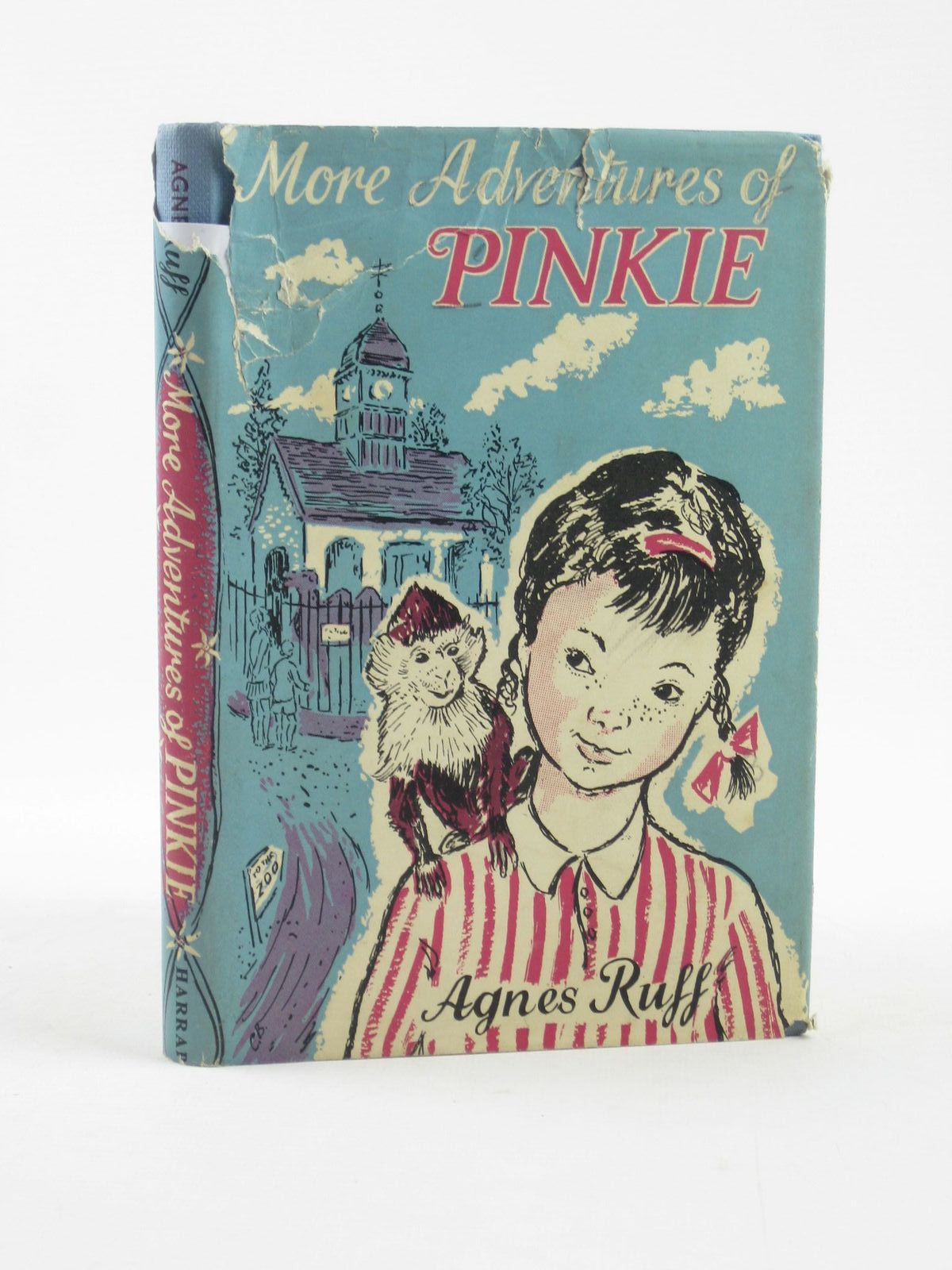 Photo of MORE ADVENTURES OF PINKIE written by Ruff, Agnes illustrated by Bailey, Conrad published by George G. Harrap & Co. Ltd. (STOCK CODE: 1501995)  for sale by Stella & Rose's Books