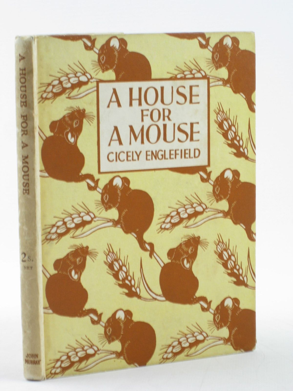 Photo of A HOUSE FOR A MOUSE written by Englefield, Cicely illustrated by Englefield, Cicely published by John Murray (STOCK CODE: 1502014)  for sale by Stella & Rose's Books