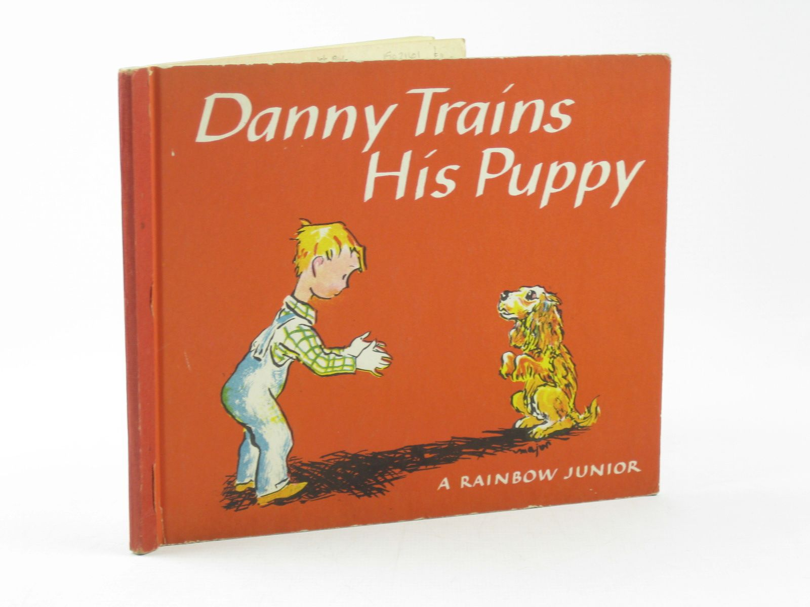 Photo of DANNY TRAINS HIS PUPPY written by Soresby, Lenore illustrated by Major, Henry published by The World Publishing Company (STOCK CODE: 1502161)  for sale by Stella & Rose's Books