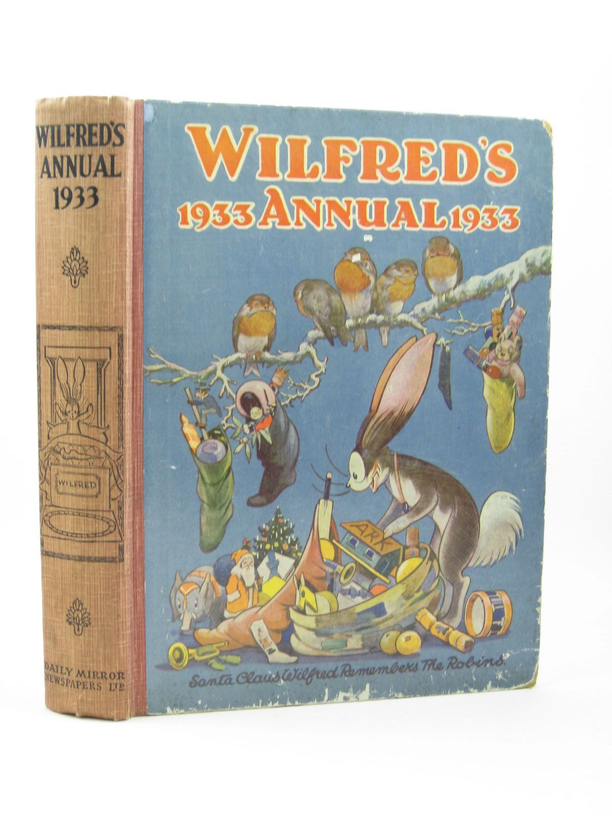 Photo of WILFRED'S ANNUAL 1933 illustrated by Brisley, Nina K. Freeman, Barbara C. Cowell, Cyril published by Daily Mirror (STOCK CODE: 1502202)  for sale by Stella & Rose's Books