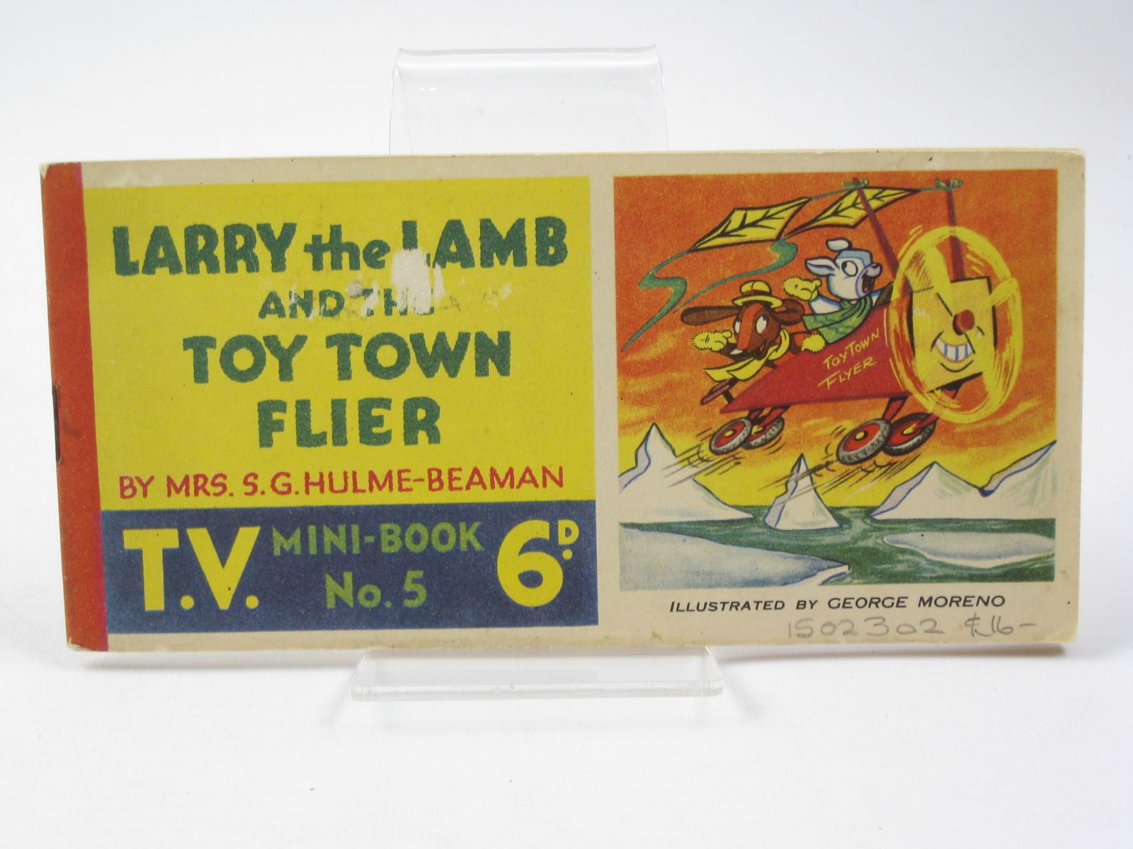 Photo of LARRY THE LAMB AND THE TOY TOWN FLIER written by Beaman, S.G. Hulme illustrated by Moreno, George published by T.V. Comic (STOCK CODE: 1502302)  for sale by Stella & Rose's Books