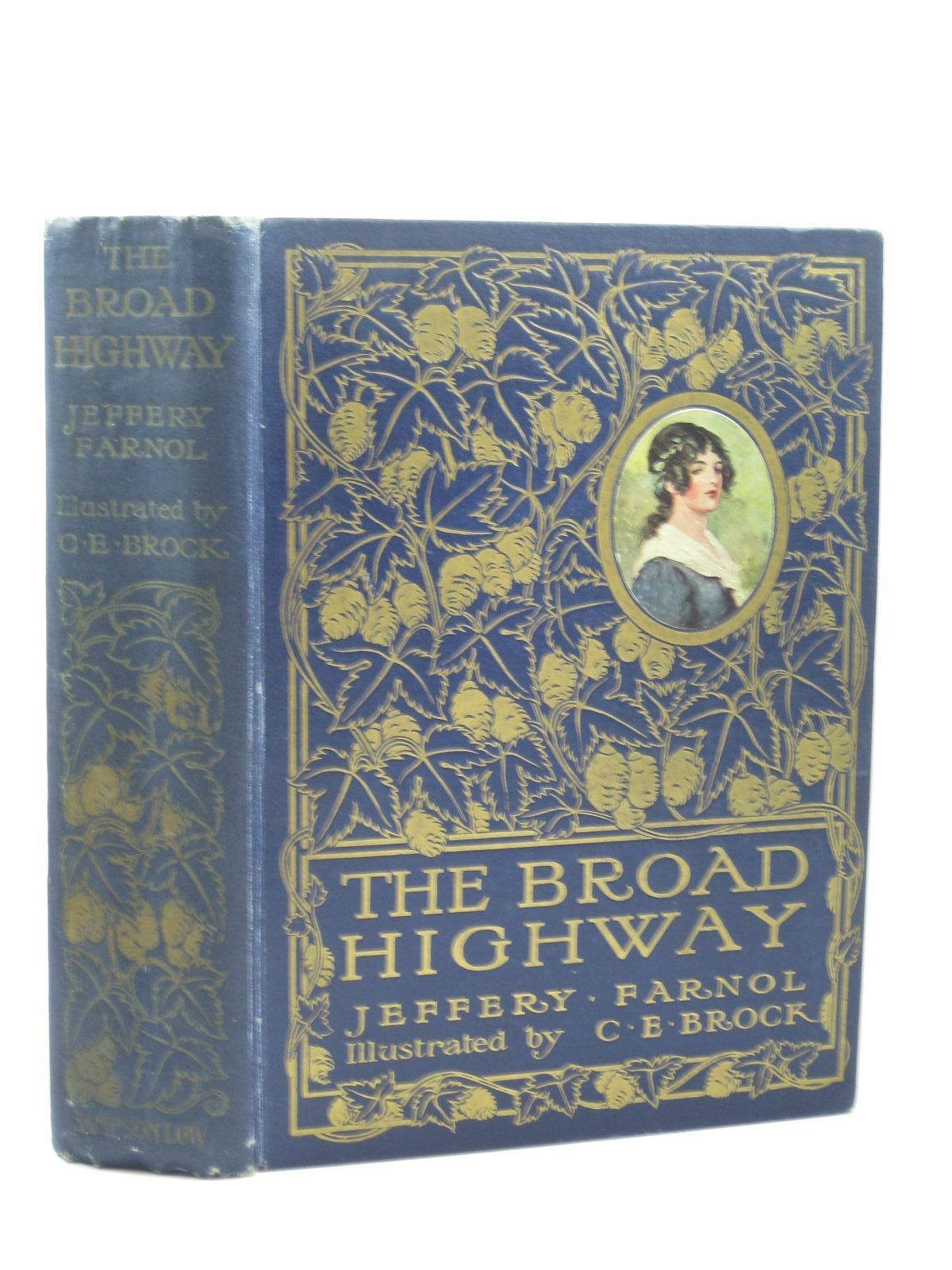 Photo of THE BROAD HIGHWAY written by Farnol, Jeffery illustrated by Brock, C.E. published by Sampson Low, Marston & Co. Ltd. (STOCK CODE: 1502327)  for sale by Stella & Rose's Books