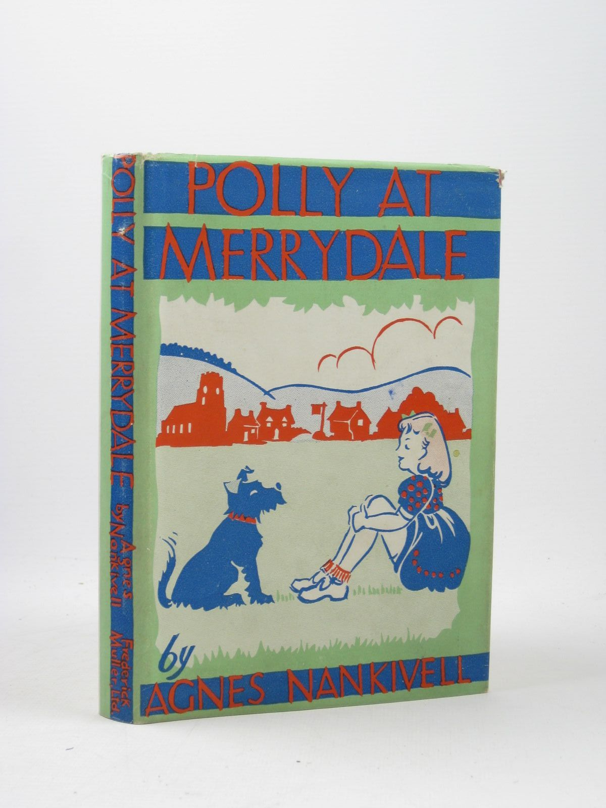Photo of POLLY AT MERRYDALE written by Nankivell, Agnes illustrated by Nankivell, Agnes published by Frederick Muller Ltd. (STOCK CODE: 1502466)  for sale by Stella & Rose's Books