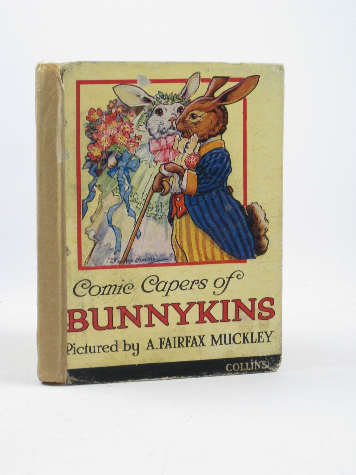 Photo of COMIC CAPERS OF BUNNIKINS illustrated by Muckley, A. Fairfax published by Collins Clear-Type Press (STOCK CODE: 1502494)  for sale by Stella & Rose's Books