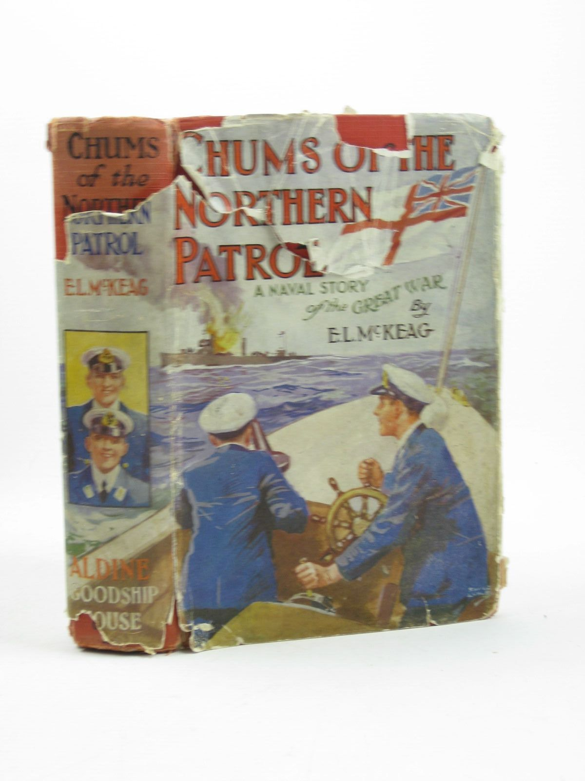 Photo of CHUMS OF THE NORTHERN PATROL written by McKeag, E.L. published by The Aldine Publishing Co. Ltd. (STOCK CODE: 1502585)  for sale by Stella & Rose's Books