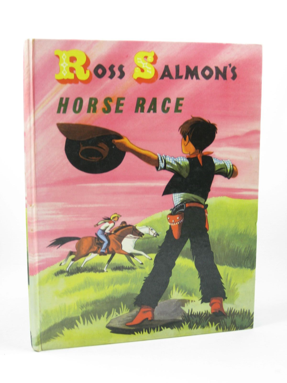 Photo of ROSS SALMON'S HORSE RACE written by Salmon, Ross illustrated by Johnstone, Janet Grahame<br />Johnstone, Anne Grahame published by Adprint (STOCK CODE: 1502626)  for sale by Stella & Rose's Books