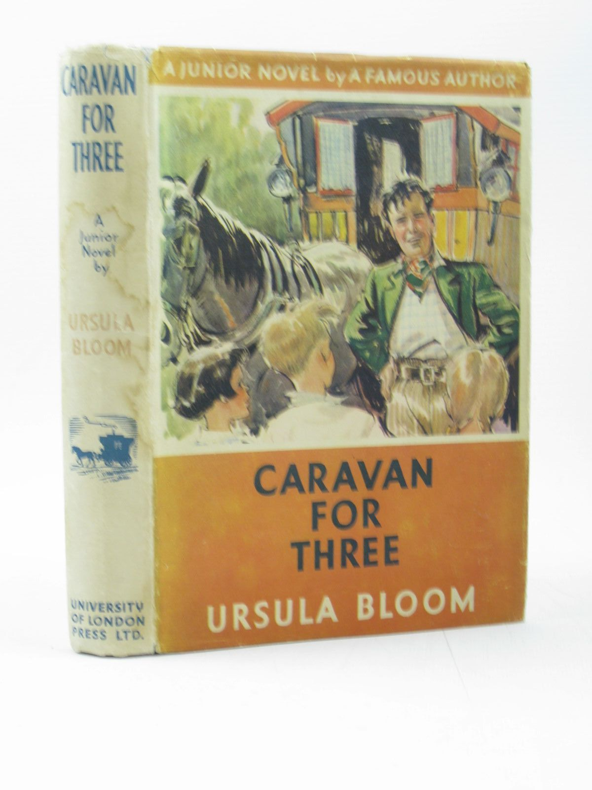 Photo of CARAVAN FOR THREE written by Bloom, Ursula illustrated by Roberts, Lunt published by University of London Press (STOCK CODE: 1502862)  for sale by Stella & Rose's Books