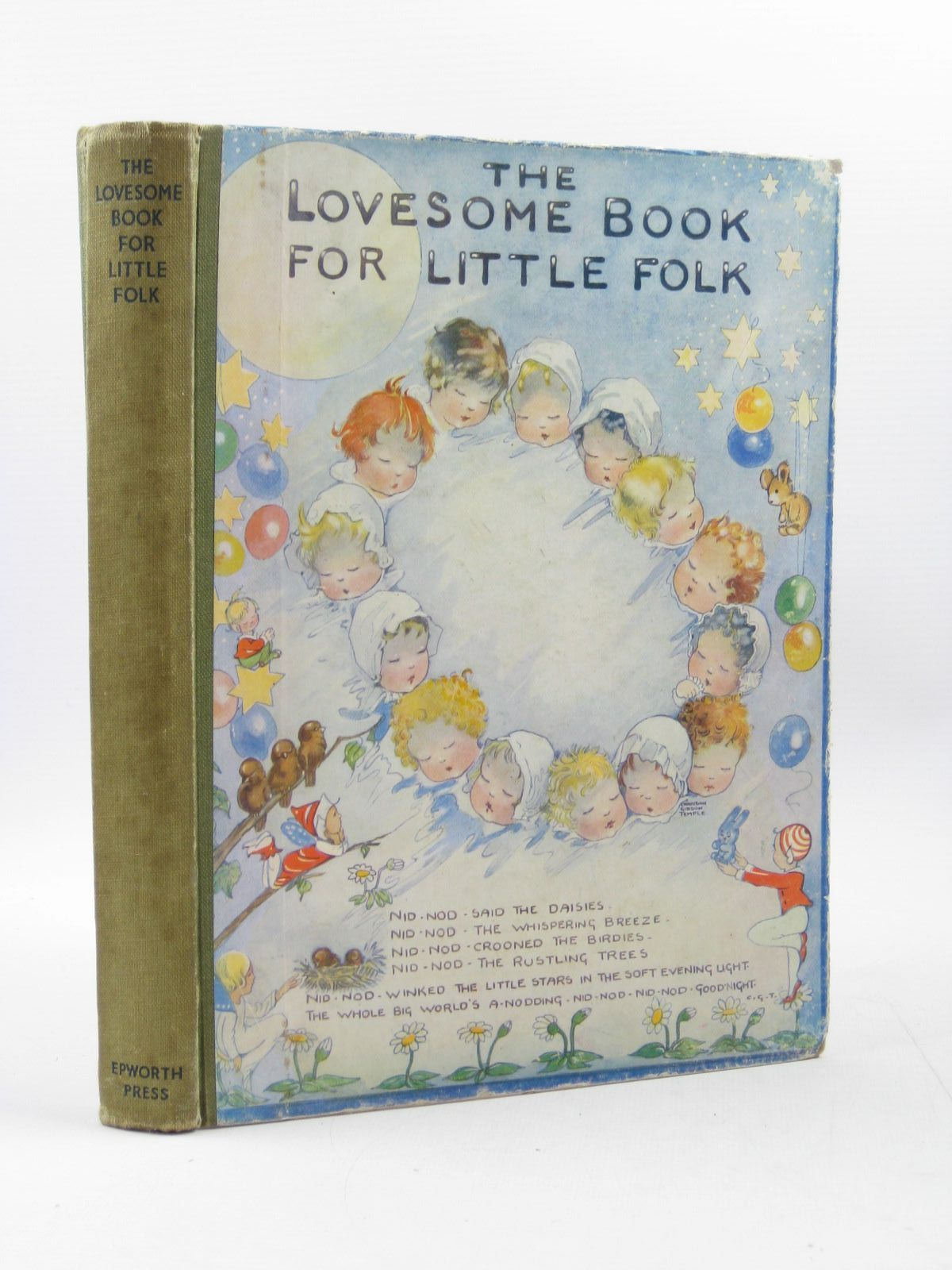 Photo of THE LOVESOME BOOK FOR LITTLE FOLK written by Temple, Chris G. Gould, Elizabeth et al, illustrated by Temple, Chris Longson, P.B. Harries, Edith et al., published by The Epworth Press (STOCK CODE: 1503053)  for sale by Stella & Rose's Books