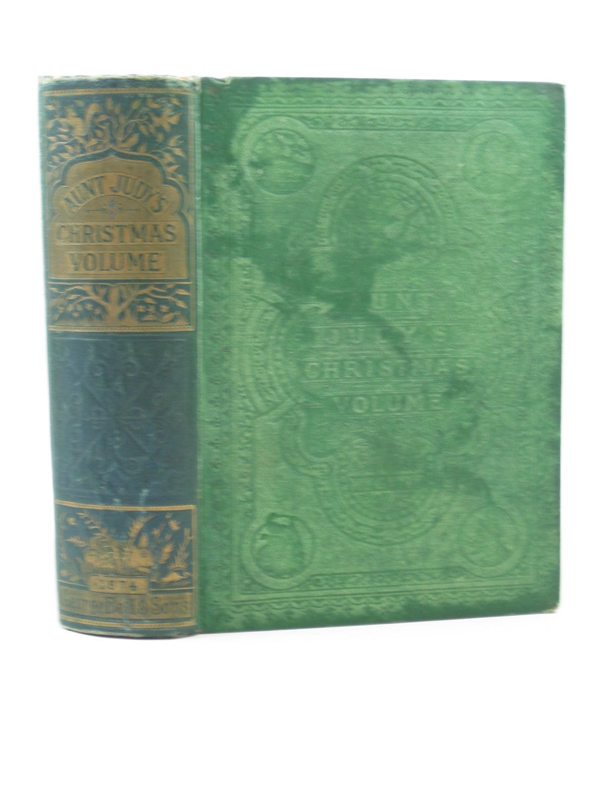 Photo of AUNT JUDY'S CHRISTMAS VOLUME FOR 1874 written by Gatty, H.K.F. Ewing, Juliana Horatia illustrated by Petherick, W.H. Paterson, H. Temple, J. et al., published by George Bell & Sons (STOCK CODE: 1503091)  for sale by Stella & Rose's Books