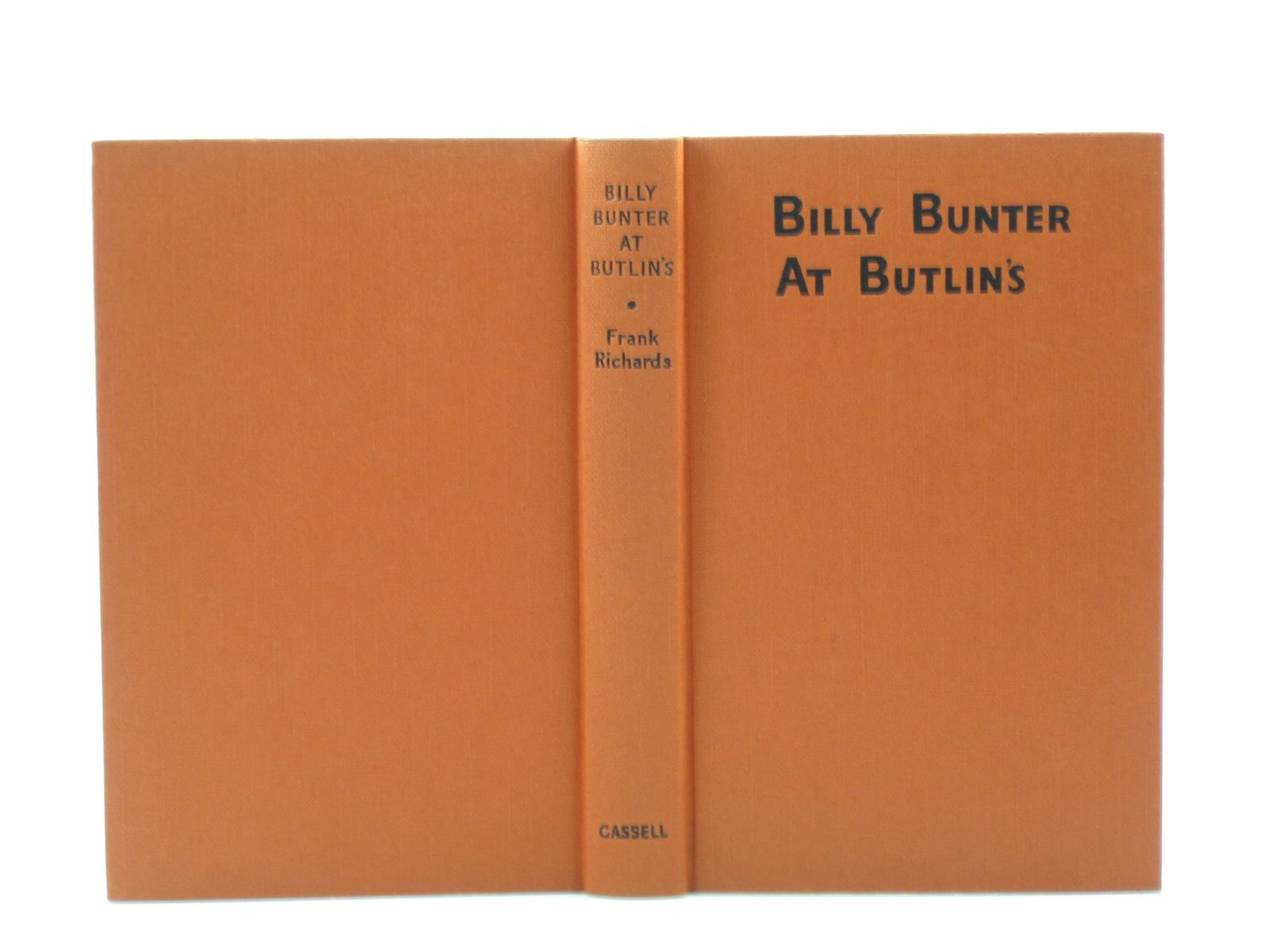 Photo of BILLY BUNTER AT BUTLINS written by Richards, Frank illustrated by Chapman, C.H. published by Cassell & Co. Ltd. (STOCK CODE: 1503098)  for sale by Stella & Rose's Books
