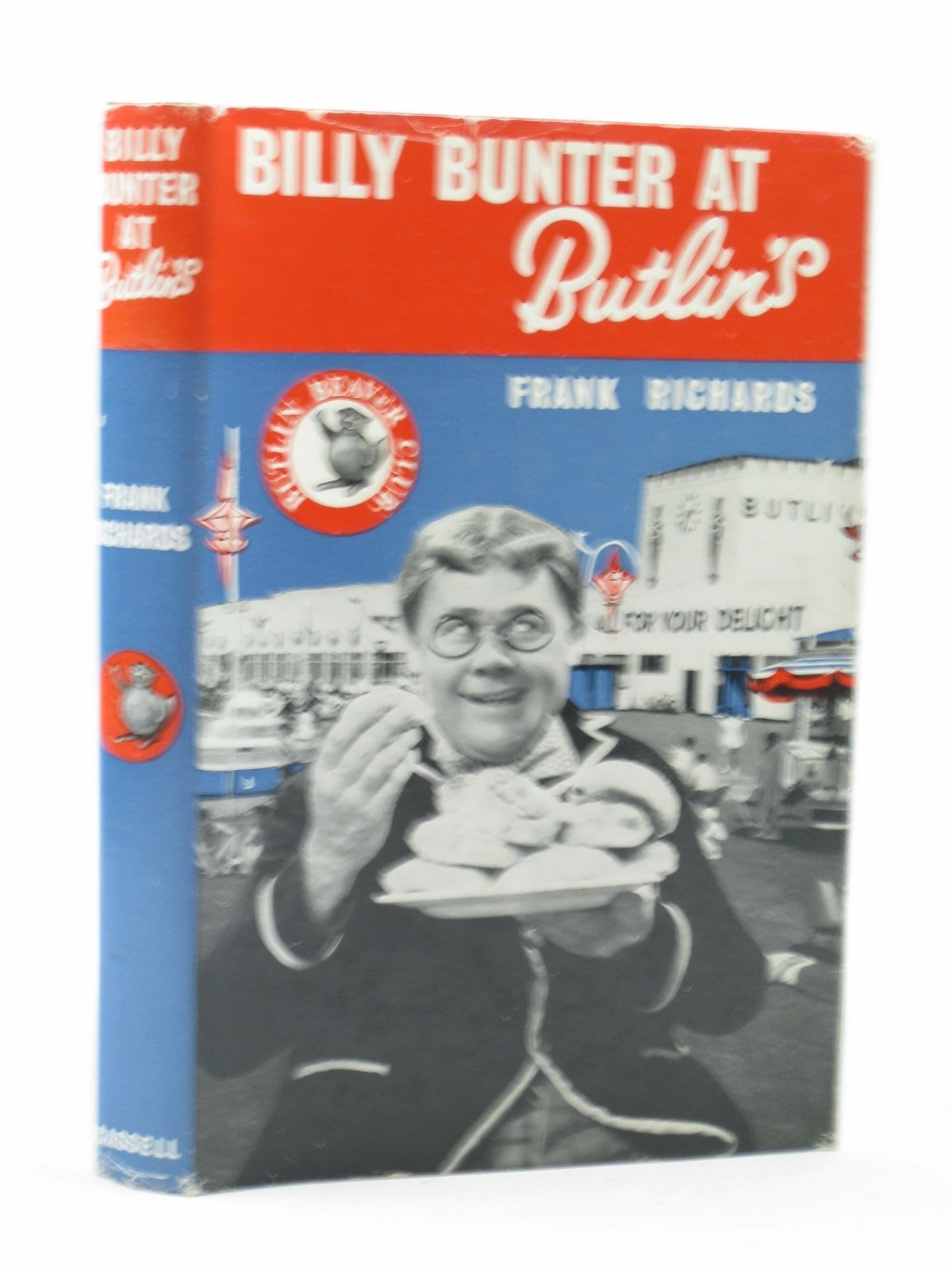 Photo of BILLY BUNTER AT BUTLIN'S written by Richards, Frank illustrated by Chapman, C.H. published by Cassell & Co. (STOCK CODE: 1503101)  for sale by Stella & Rose's Books