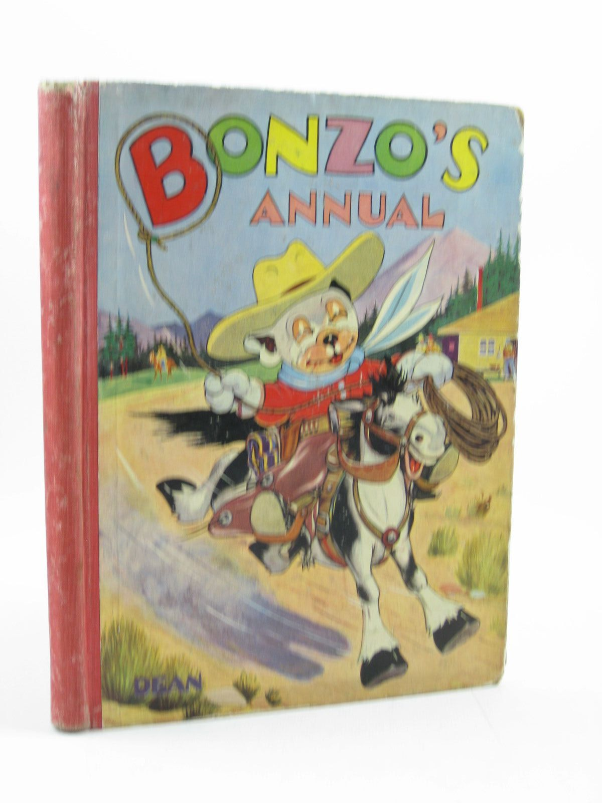 Photo of BONZO'S ANNUAL 1951 written by Studdy, G.E. Bradley, Christine E. illustrated by Studdy, G.E. published by Dean & Son Ltd. (STOCK CODE: 1503215)  for sale by Stella & Rose's Books