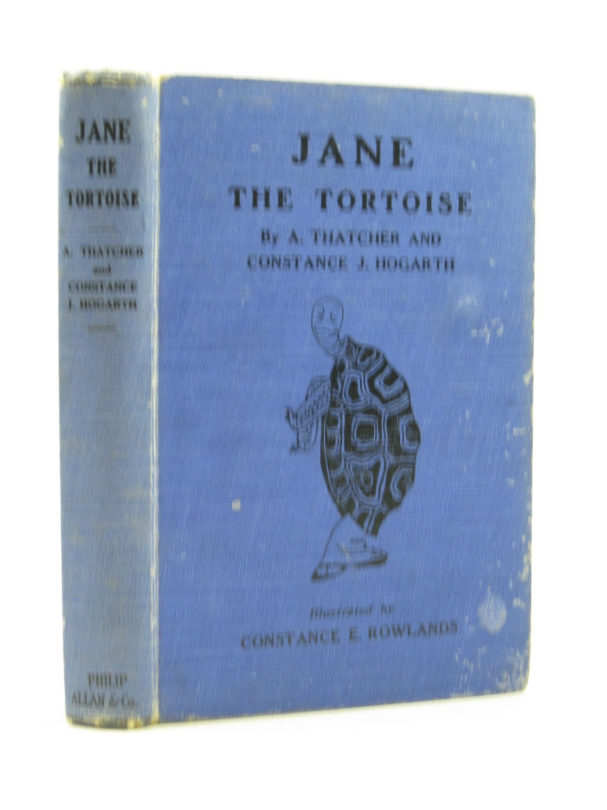 Photo of JANE THE TORTOISE written by Thatcher, A.