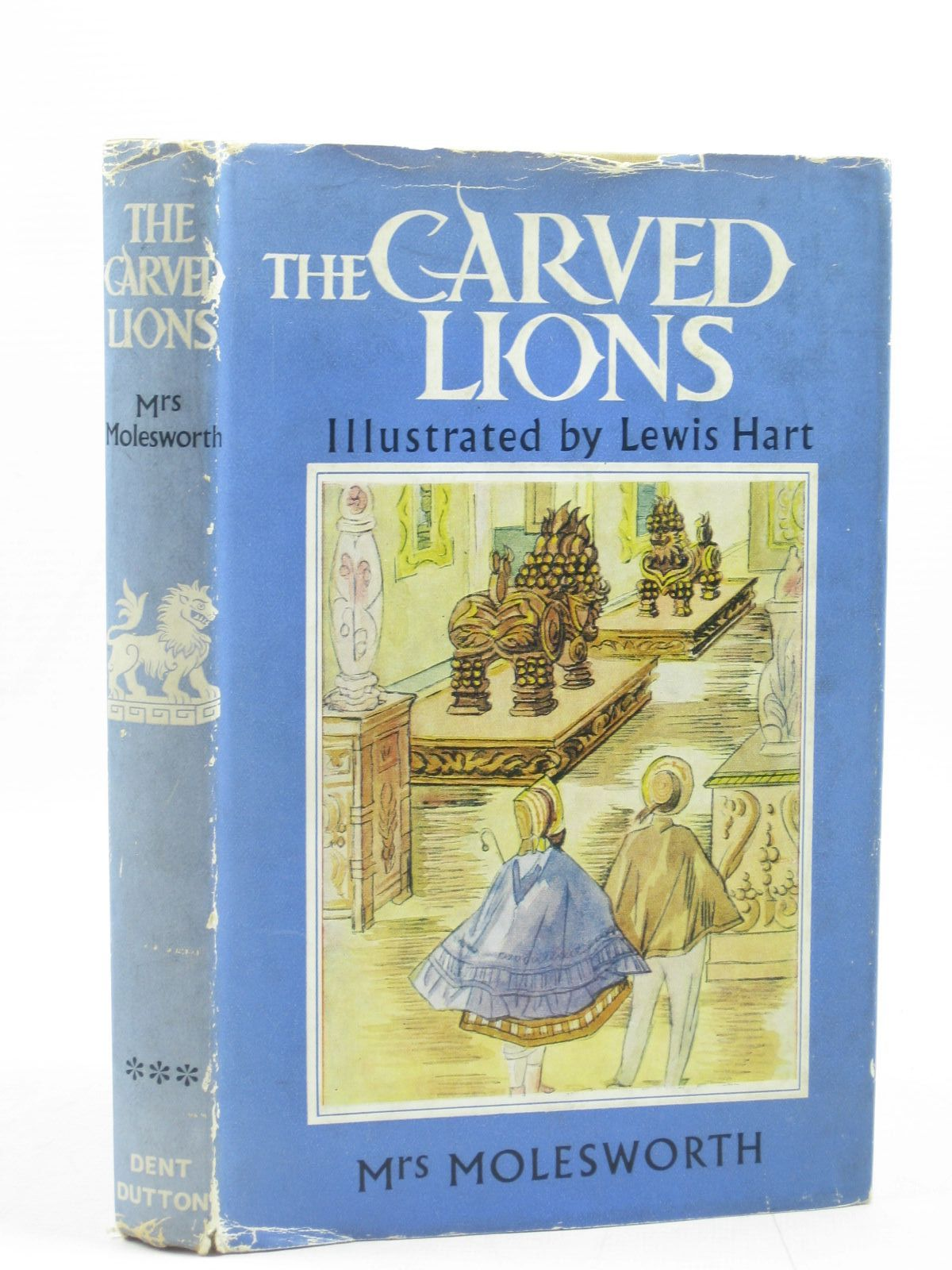 Photo of THE CARVED LIONS written by Molesworth, Mrs. illustrated by Hart, Lewis published by J.M. Dent & Sons Ltd. (STOCK CODE: 1503376)  for sale by Stella & Rose's Books
