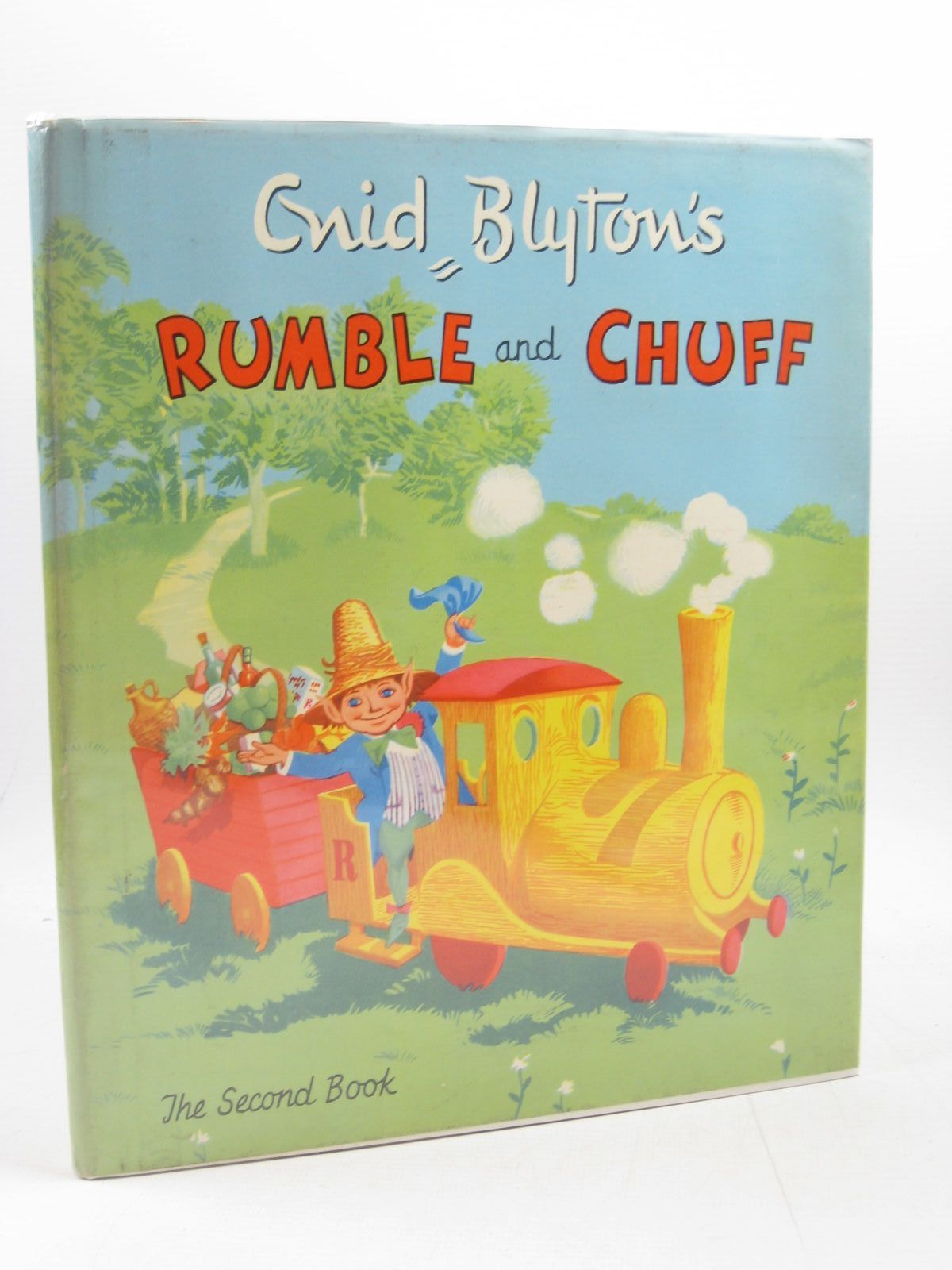Photo of RUMBLE AND CHUFF THE SECOND BOOK written by Blyton, Enid illustrated by Walsh, David published by Juvenile Productions Ltd. (STOCK CODE: 1503420)  for sale by Stella & Rose's Books