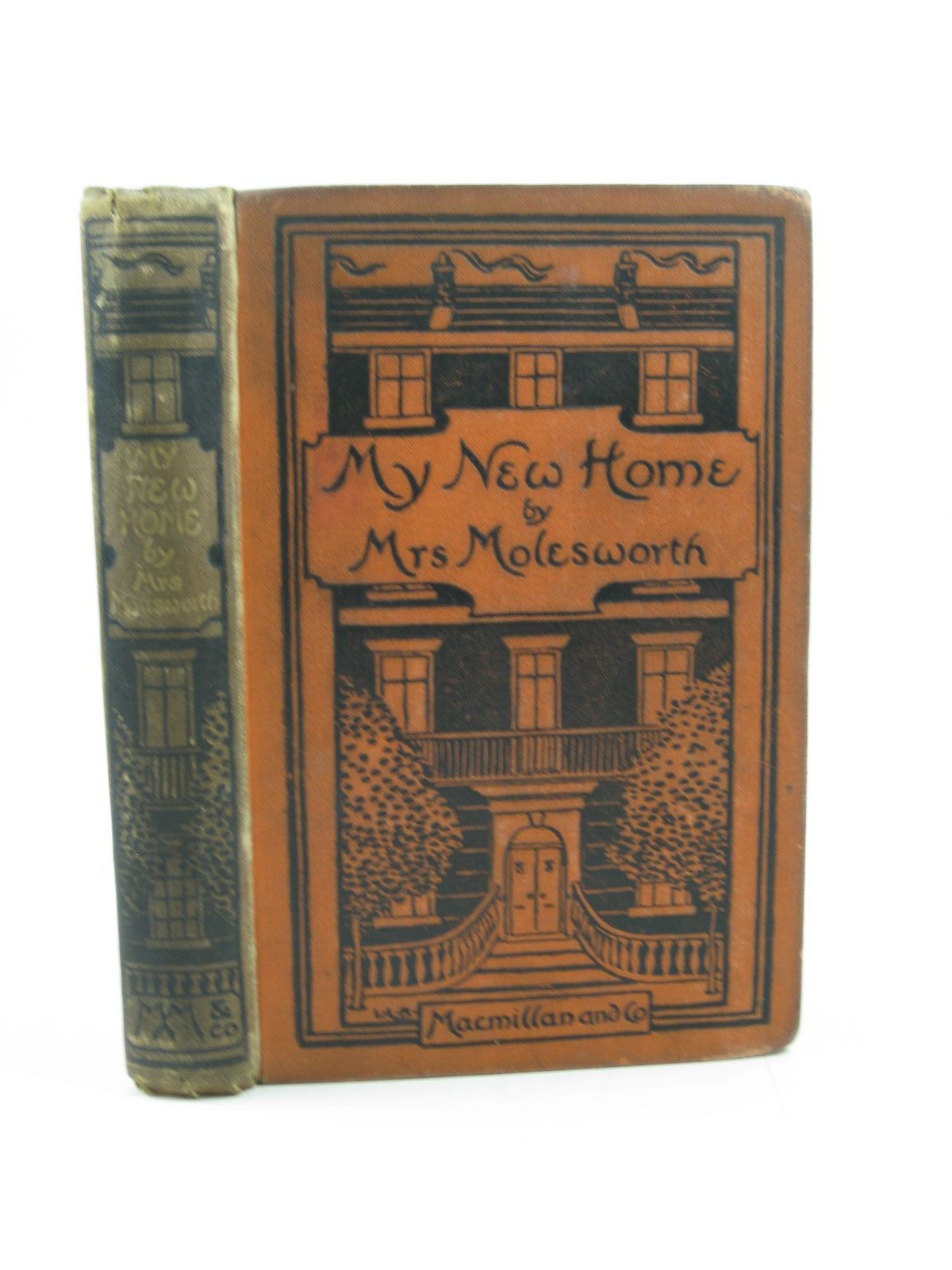 Photo of MY NEW HOME written by Molesworth, Mrs. illustrated by Brooke, L. Leslie published by Macmillan & Co. (STOCK CODE: 1503422)  for sale by Stella & Rose's Books