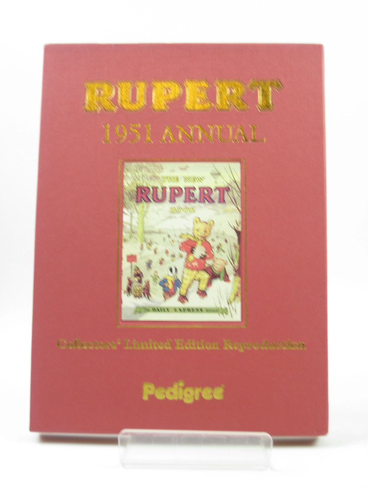 Photo of RUPERT ANNUAL 1951 (FACSIMILE) - THE NEW RUPERT BOOK written by Bestall, Alfred illustrated by Bestall, Alfred published by Pedigree Books Limited (STOCK CODE: 1503440)  for sale by Stella & Rose's Books