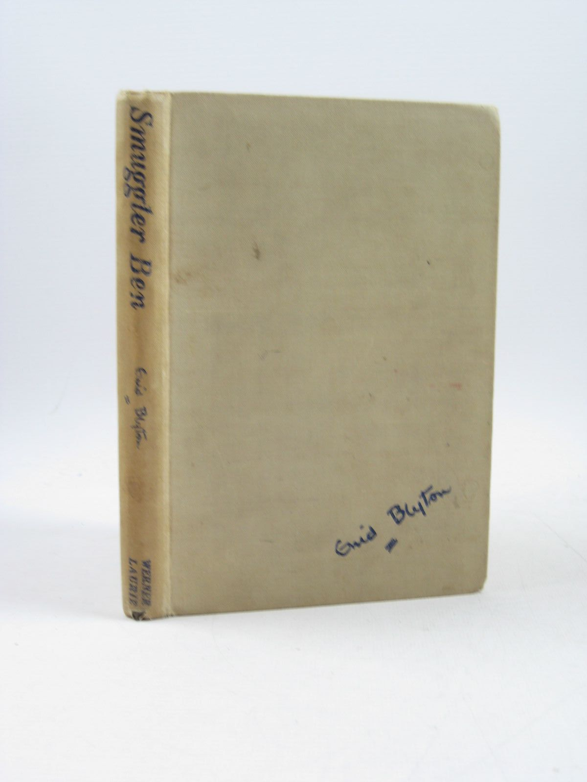 Photo of SMUGGLER BEN written by Blyton, Enid illustrated by Backhouse, William published by Werner Laurie (STOCK CODE: 1503565)  for sale by Stella & Rose's Books