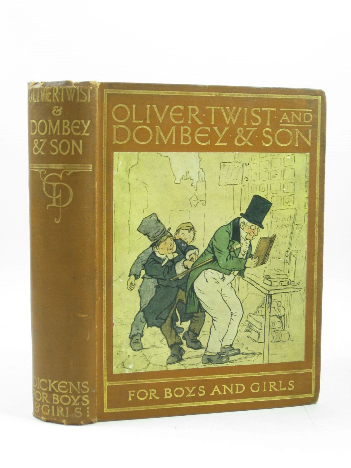 Photo of OLIVER TWIST AND DOMBEY & SON- Stock Number: 1503597