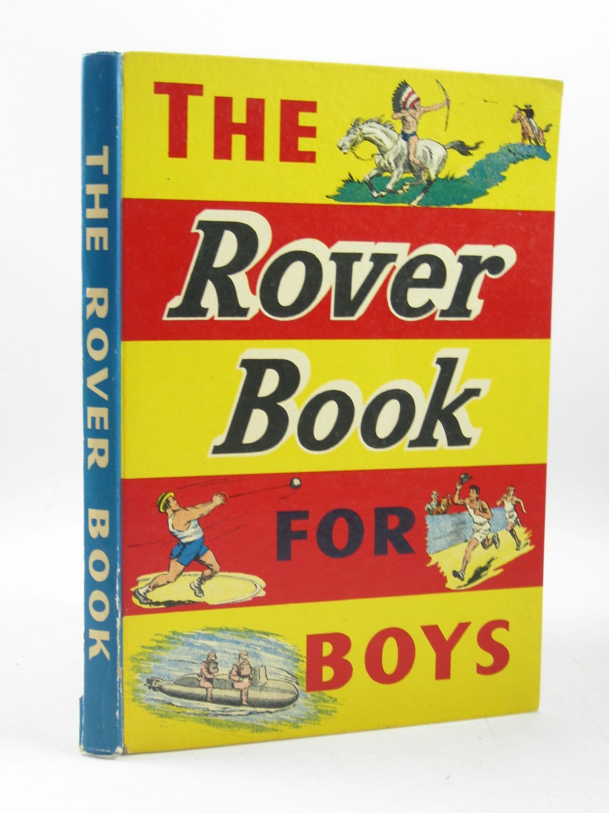 Photo of THE ROVER BOOK FOR BOYS 1958 published by D.C. Thomson & Co Ltd. (STOCK CODE: 1503681)  for sale by Stella & Rose's Books