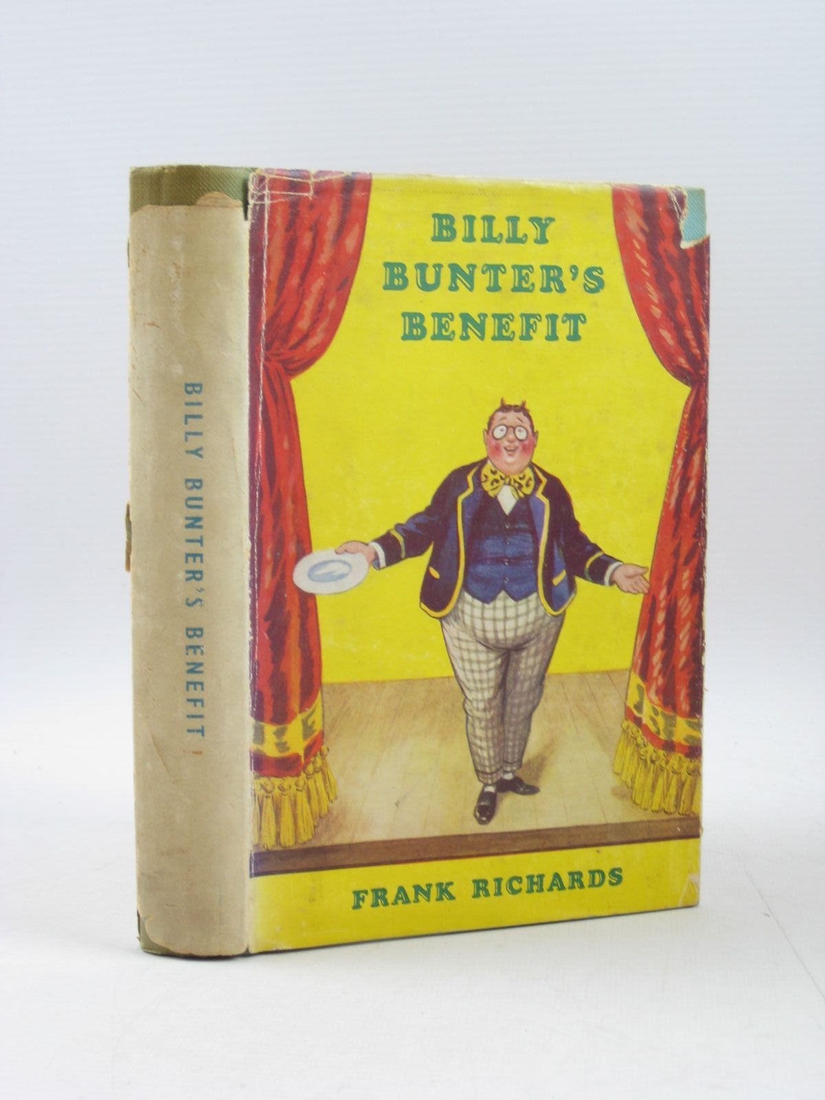 Photo of BILLY BUNTER'S BENEFIT written by Richards, Frank illustrated by Macdonald, R.J. published by Cassell & Company Limited (STOCK CODE: 1503731)  for sale by Stella & Rose's Books