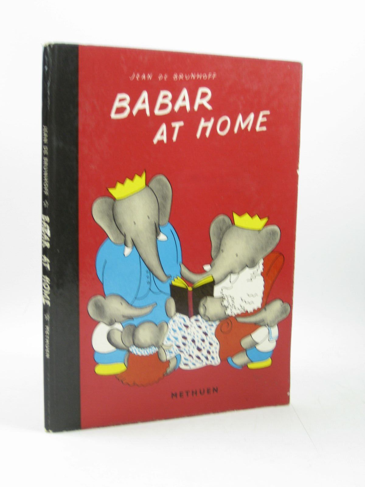 Photo of BABAR AT HOME written by De Brunhoff, Jean illustrated by De Brunhoff, Jean published by Methuen & Co. Ltd. (STOCK CODE: 1503791)  for sale by Stella & Rose's Books