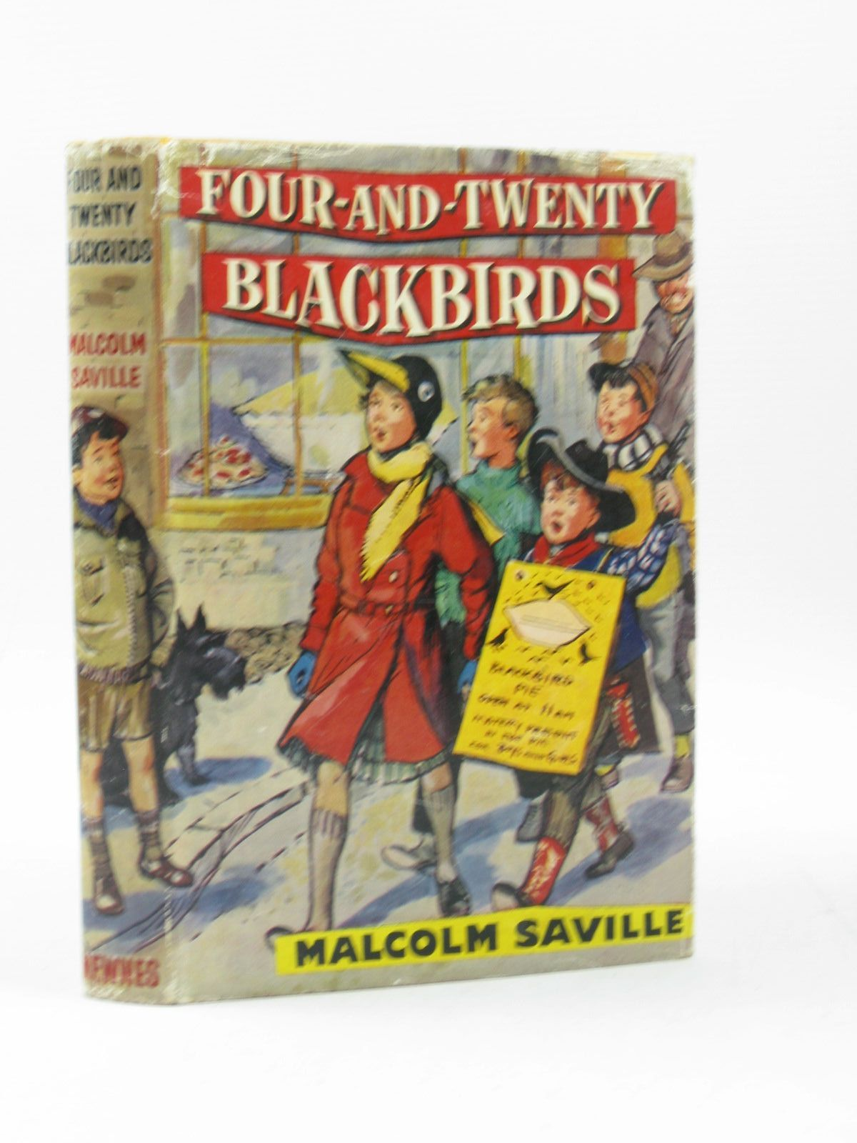 Photo of FOUR-AND-TWENTY BLACKBIRDS written by Saville, Malcolm illustrated by Buchanan, Lilian published by George Newnes Limited (STOCK CODE: 1503803)  for sale by Stella & Rose's Books