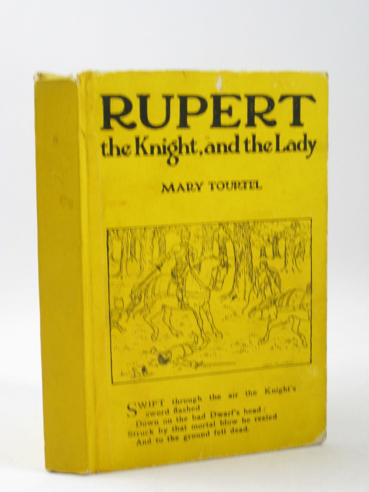 Photo of RUPERT THE KNIGHT AND THE LADY - RUPERT LITTLE BEAR LIBRARY No. 8 written by Tourtel, Mary illustrated by Tourtel, Mary published by Sampson Low, Marston & Co. Ltd. (STOCK CODE: 1503917)  for sale by Stella & Rose's Books