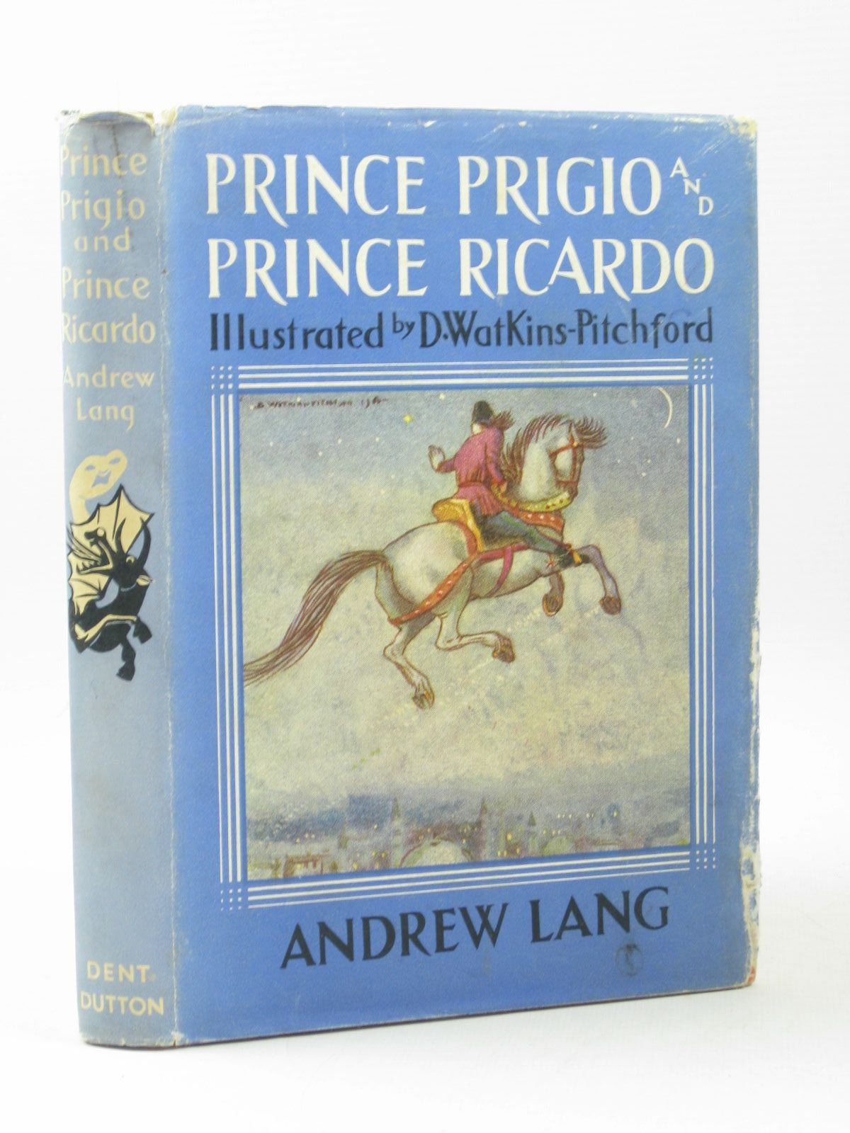 Photo of PRINCE PRIGIO AND PRINCE RICARDO written by Lang, Andrew illustrated by BB,  published by J.M. Dent & Sons Ltd. (STOCK CODE: 1504006)  for sale by Stella & Rose's Books