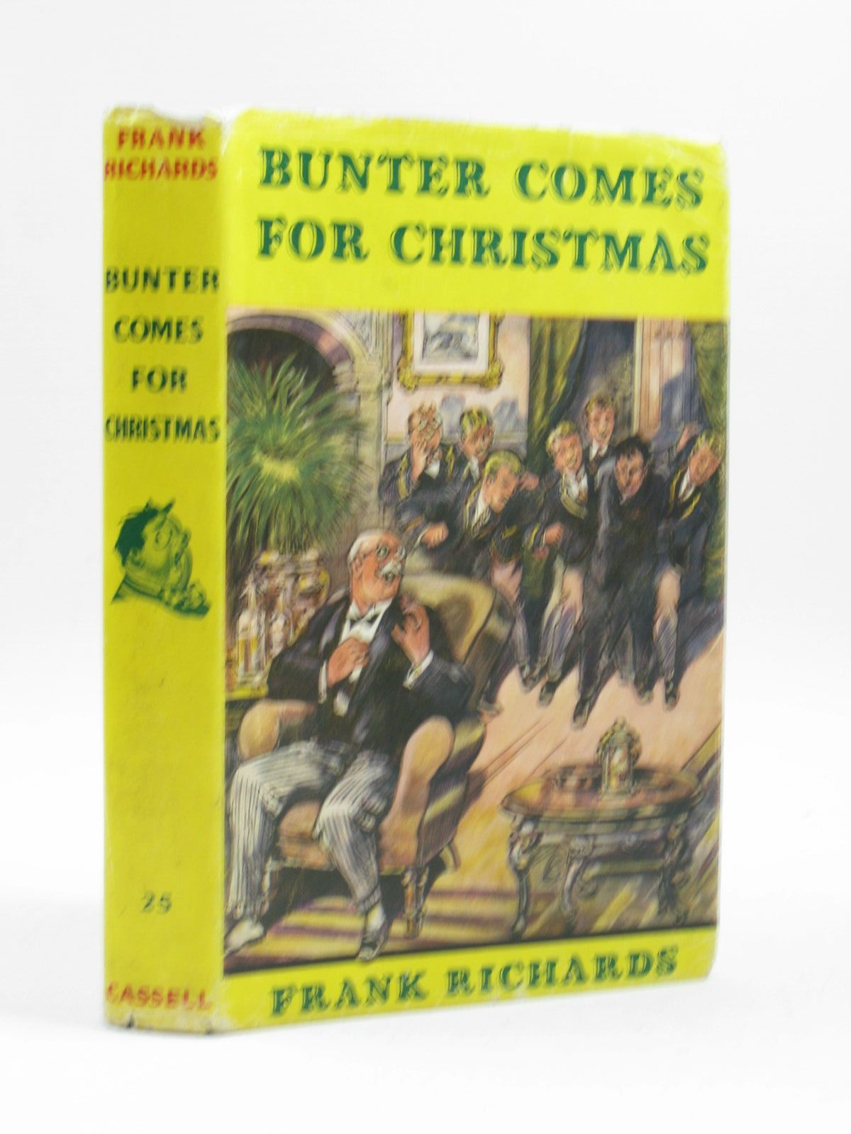 Photo of BUNTER COMES FOR CHRISTMAS written by Richards, Frank illustrated by Chapman, C.H. published by Cassell (STOCK CODE: 1504079)  for sale by Stella & Rose's Books