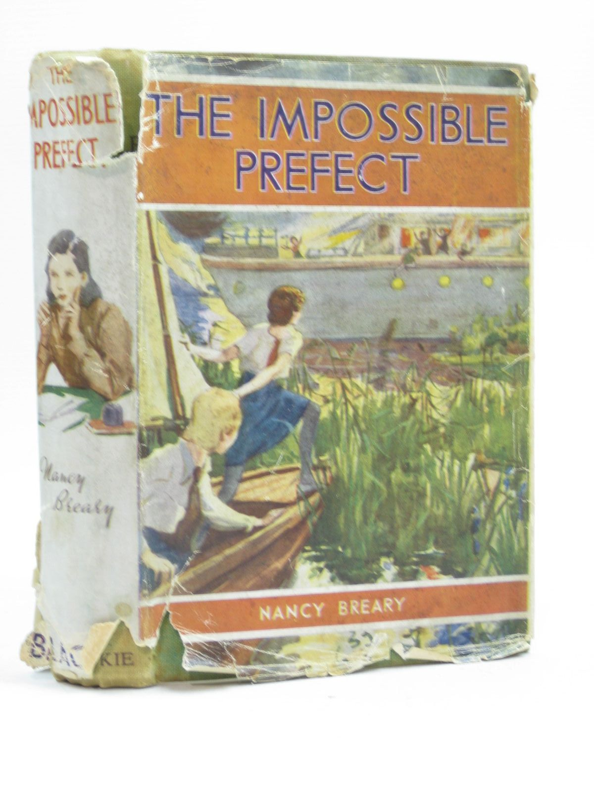 Photo of THE IMPOSSIBLE PREFECT written by Breary, Nancy illustrated by Bates, Leo published by Blackie & Son Ltd. (STOCK CODE: 1504223)  for sale by Stella & Rose's Books