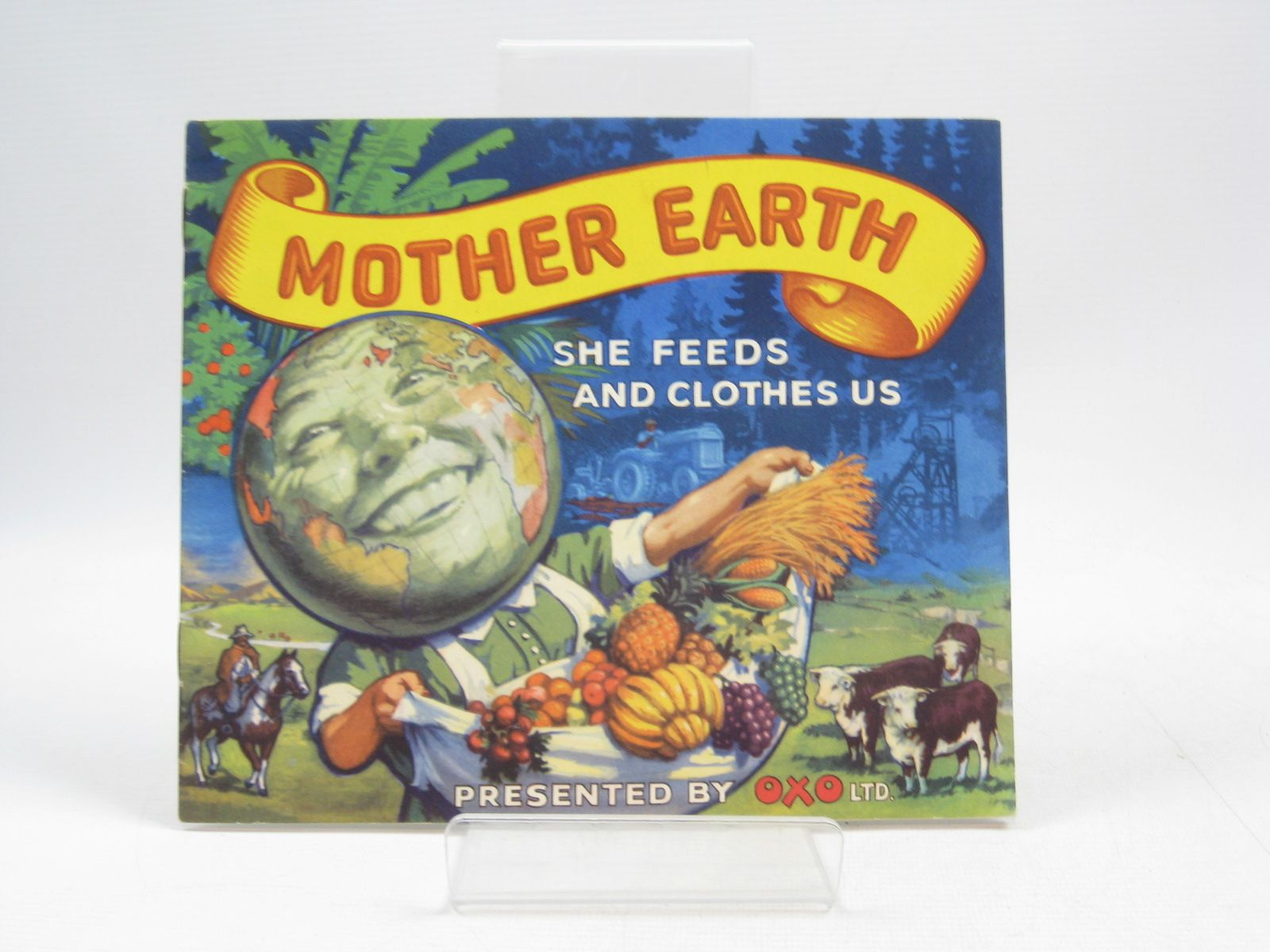 Photo of MOTHER EARTH SHE FEEDS AND CLOTHES US published by Oxo Limited (STOCK CODE: 1504318)  for sale by Stella & Rose's Books