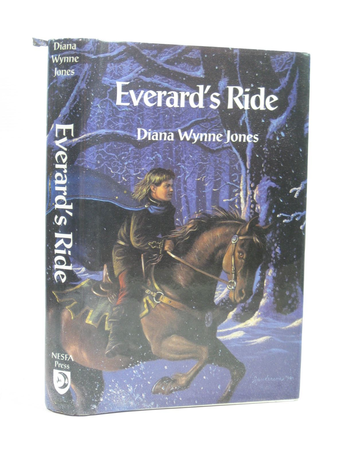 Photo of EVERARD'S RIDE written by Jones, Diana Wynne published by The Nesfa Press (STOCK CODE: 1504391)  for sale by Stella & Rose's Books