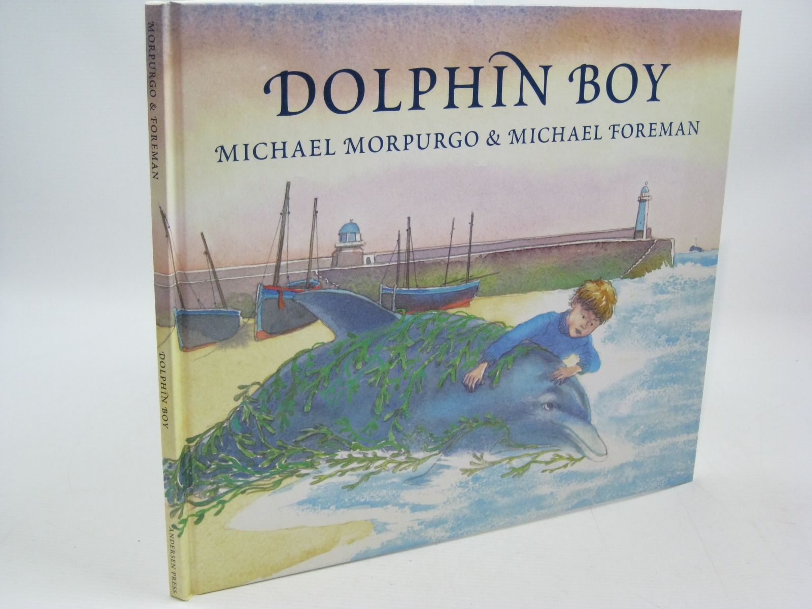 Photo of DOLPHIN BOY written by Morpurgo, Michael illustrated by Foreman, Michael published by Andersen Press (STOCK CODE: 1504444)  for sale by Stella & Rose's Books