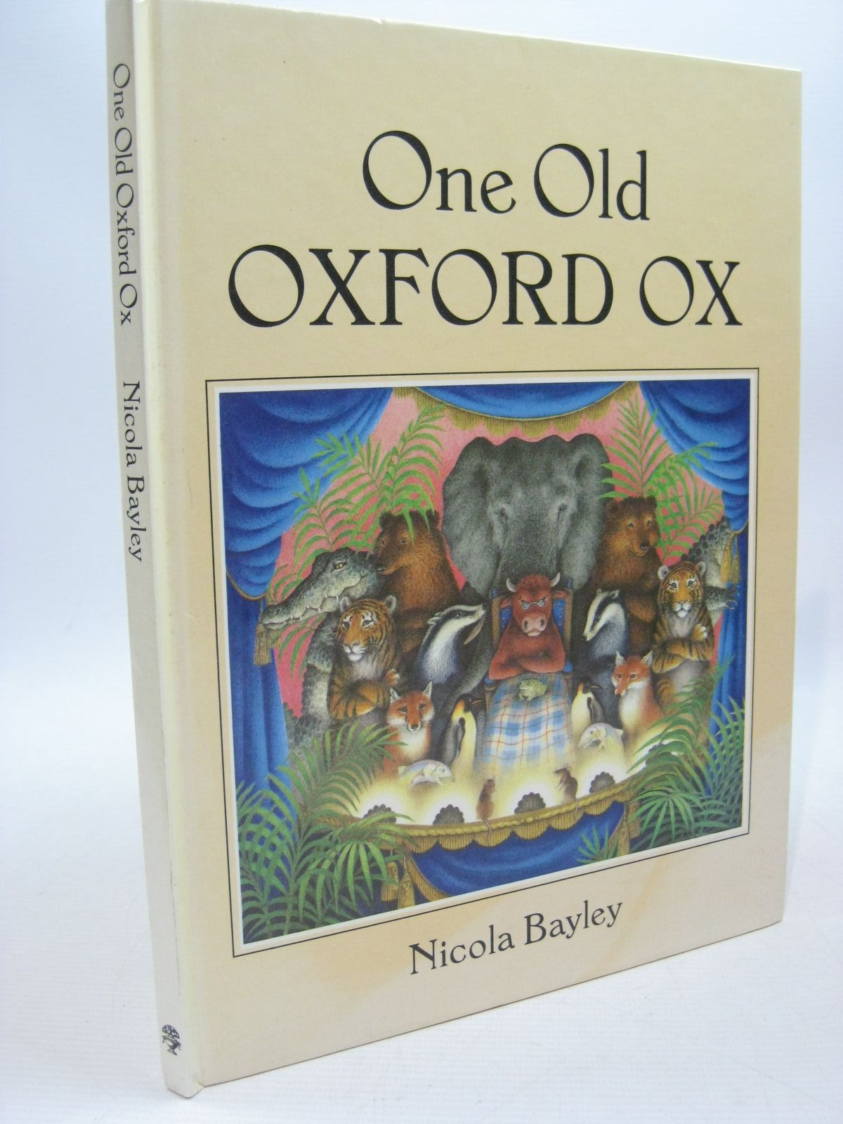 Photo of ONE OLD OXFORD OX written by Bayley, Nicola illustrated by Bayley, Nicola published by Jonathan Cape (STOCK CODE: 1504452)  for sale by Stella & Rose's Books