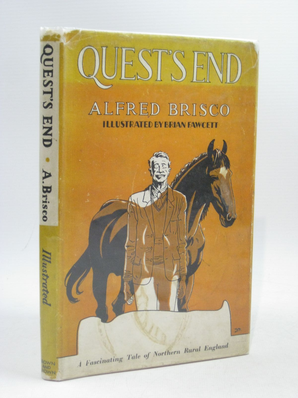 Photo of QUEST'S END written by Brisco, Alfred illustrated by Fawcett, Brian published by Brown and Brown (STOCK CODE: 1504468)  for sale by Stella & Rose's Books