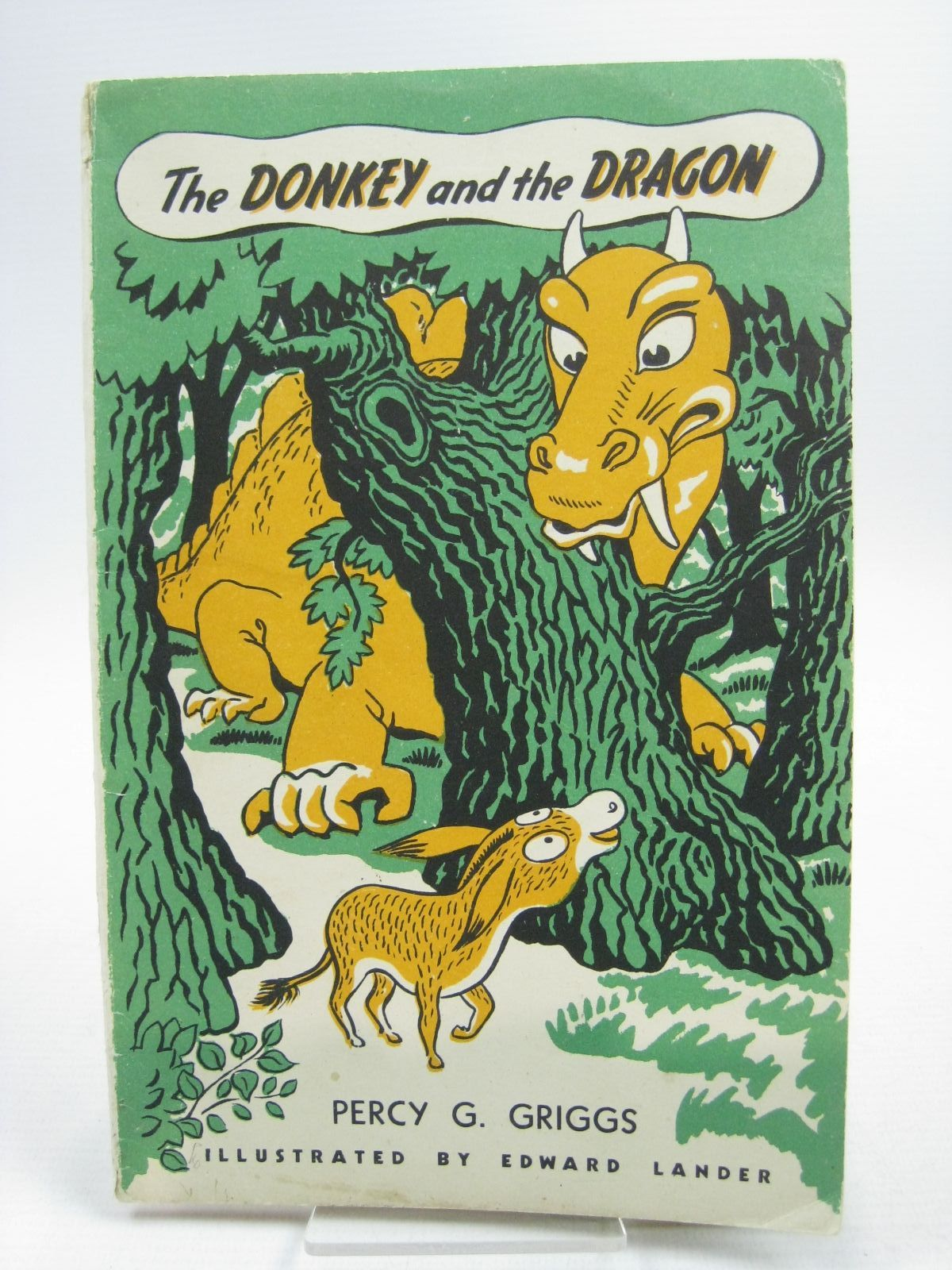 Photo of THE DONKEY AND THE DRAGON written by Brent-Dyer, Elinor M. Griggs, Percy G. illustrated by Lander, Edward published by John Langdon Limited (STOCK CODE: 1504474)  for sale by Stella & Rose's Books