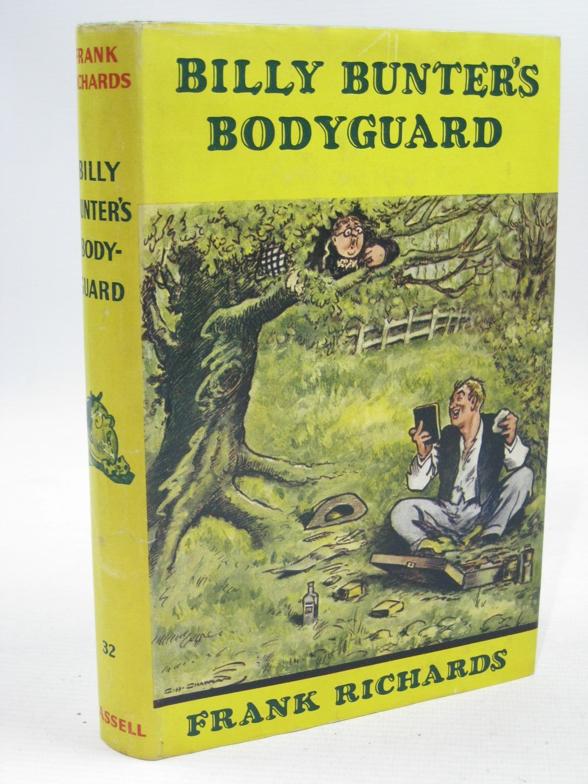 Photo of BILLY BUNTER'S BODYGUARD written by Richards, Frank illustrated by Chapman, C.H. published by Cassell & Company Ltd (STOCK CODE: 1504496)  for sale by Stella & Rose's Books
