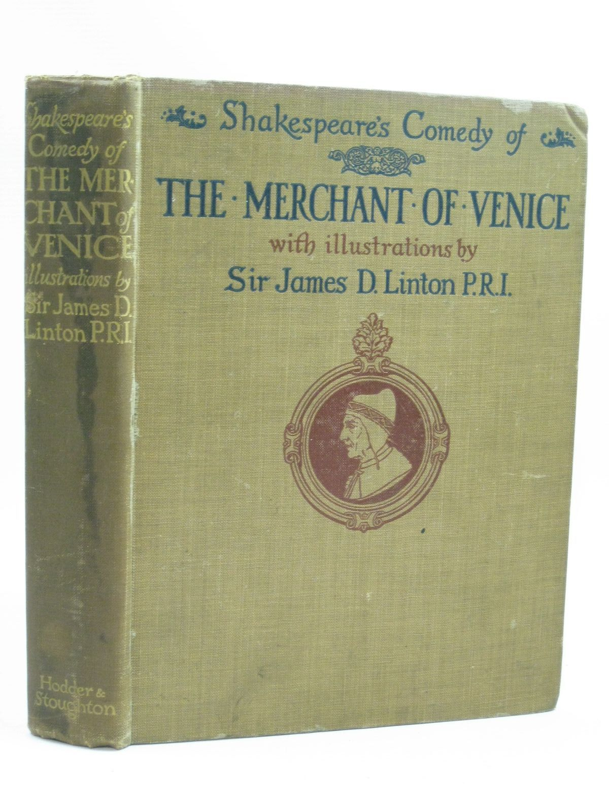 Photo of SHAKESPEARE'S COMEDY OF THE MERCHANT OF VENICE written by Shakespeare, William illustrated by Linton, James published by Hodder & Stoughton (STOCK CODE: 1504568)  for sale by Stella & Rose's Books