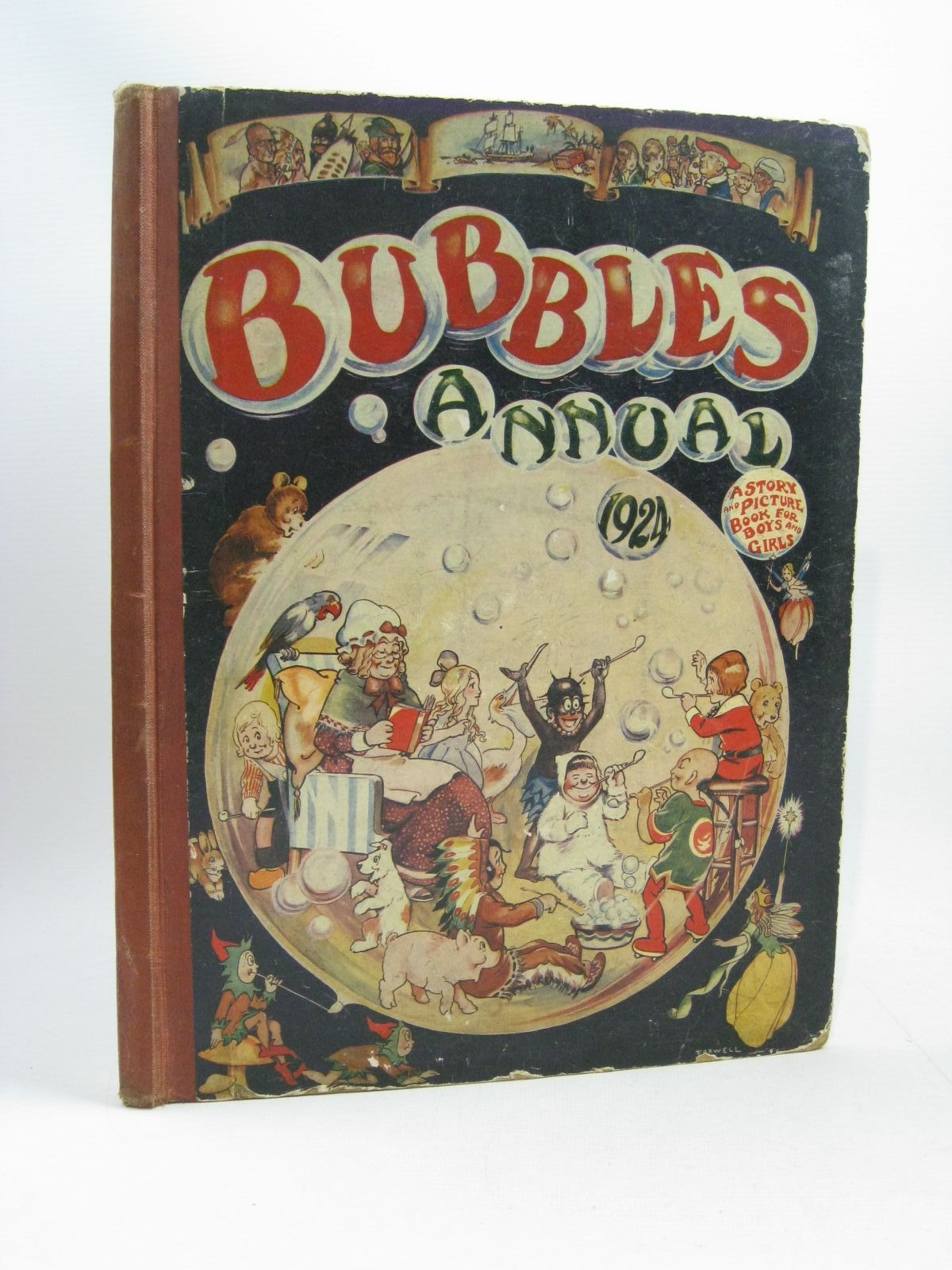 Photo of BUBBLES ANNUAL 1924- Stock Number: 1504594