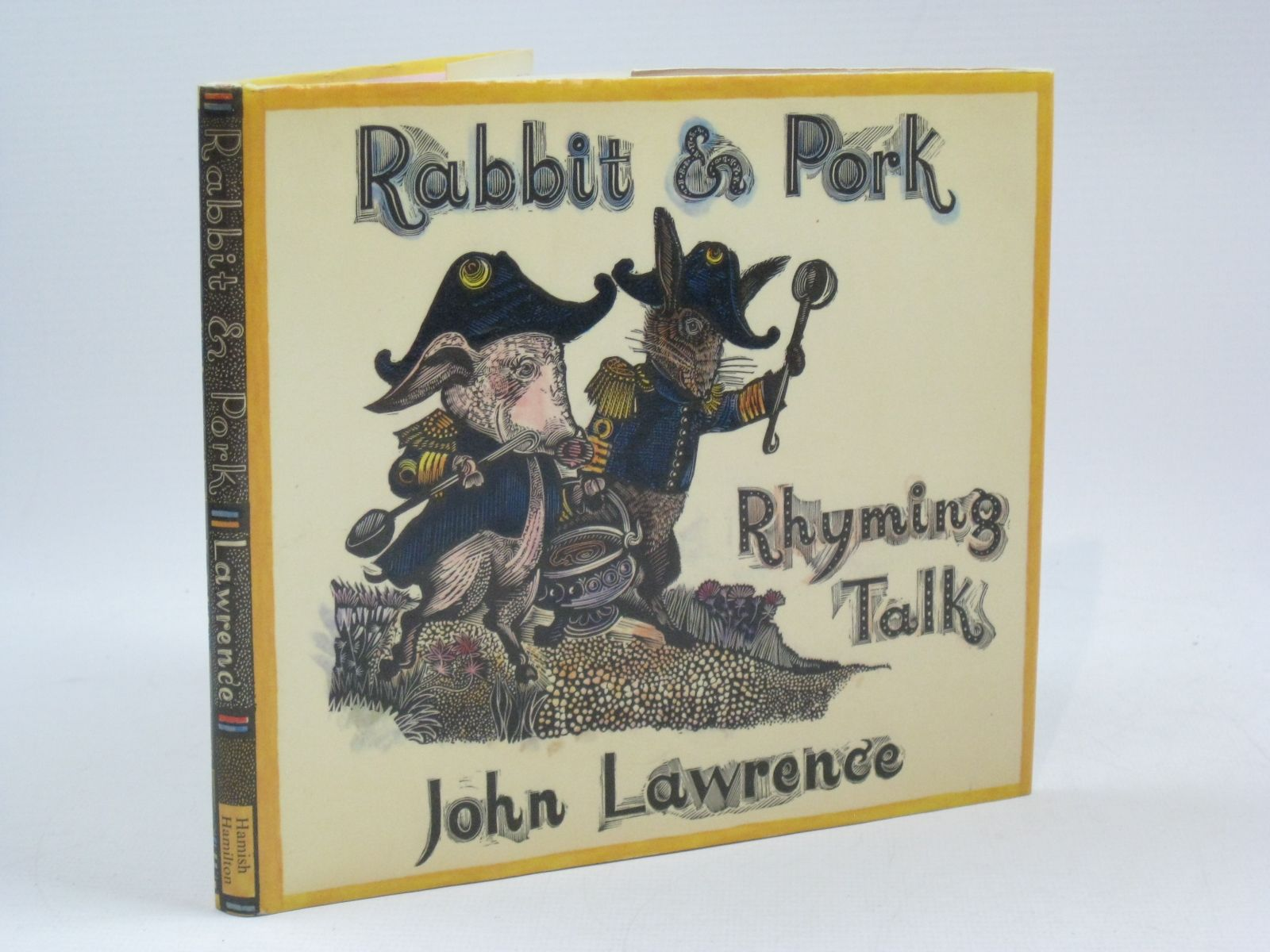 Photo of RABBIT AND PORK RHYMING TALK written by Lawrence, John illustrated by Lawrence, John published by Hamish Hamilton (STOCK CODE: 1504601)  for sale by Stella & Rose's Books