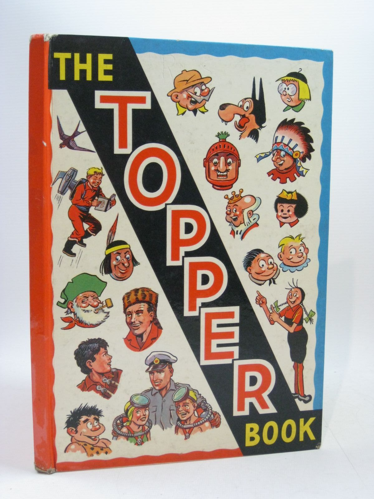 Photo of THE TOPPER BOOK 1960 published by D.C. Thomson & Co Ltd., John Leng & Co. Ltd. (STOCK CODE: 1504643)  for sale by Stella & Rose's Books