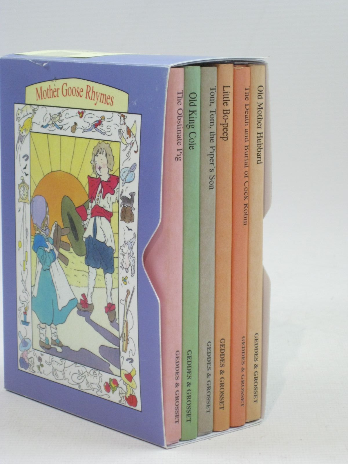 Photo of MOTHER GOOSE RHYMES illustrated by Duff, Lyndsay published by Geddes & Grosset (STOCK CODE: 1504681)  for sale by Stella & Rose's Books