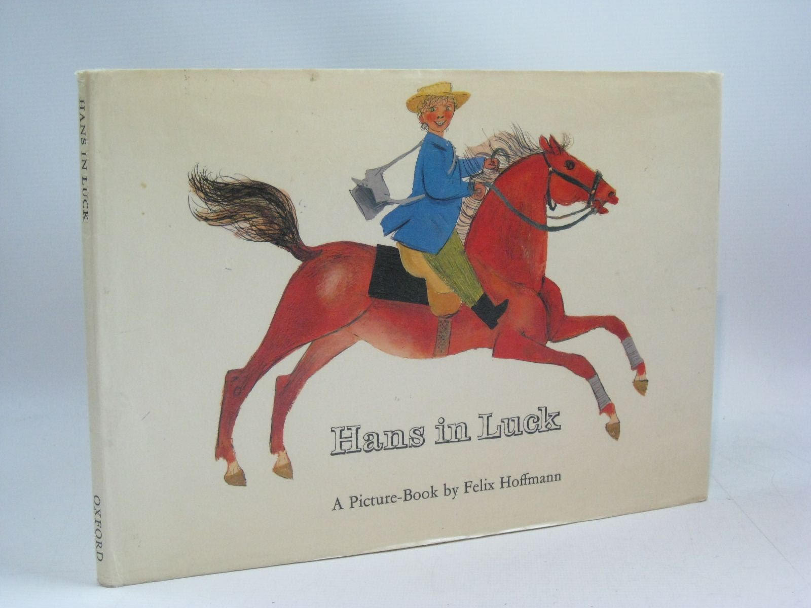 Photo of HANS IN LUCK written by Grimm, Brothers illustrated by Hoffmann, Felix published by Oxford University Press (STOCK CODE: 1504776)  for sale by Stella & Rose's Books