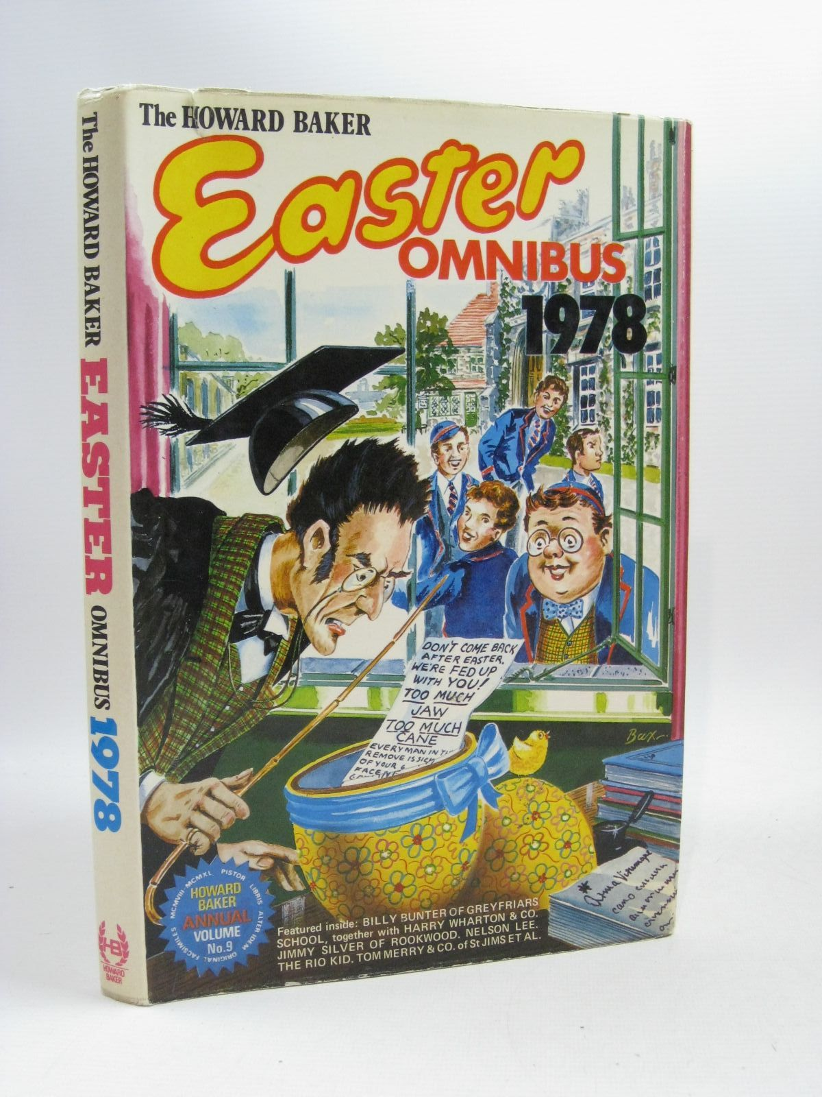 Photo of THE HOWARD BAKER EASTER OMNIBUS 1978 written by Richards, Frank published by Howard Baker (STOCK CODE: 1504812)  for sale by Stella & Rose's Books