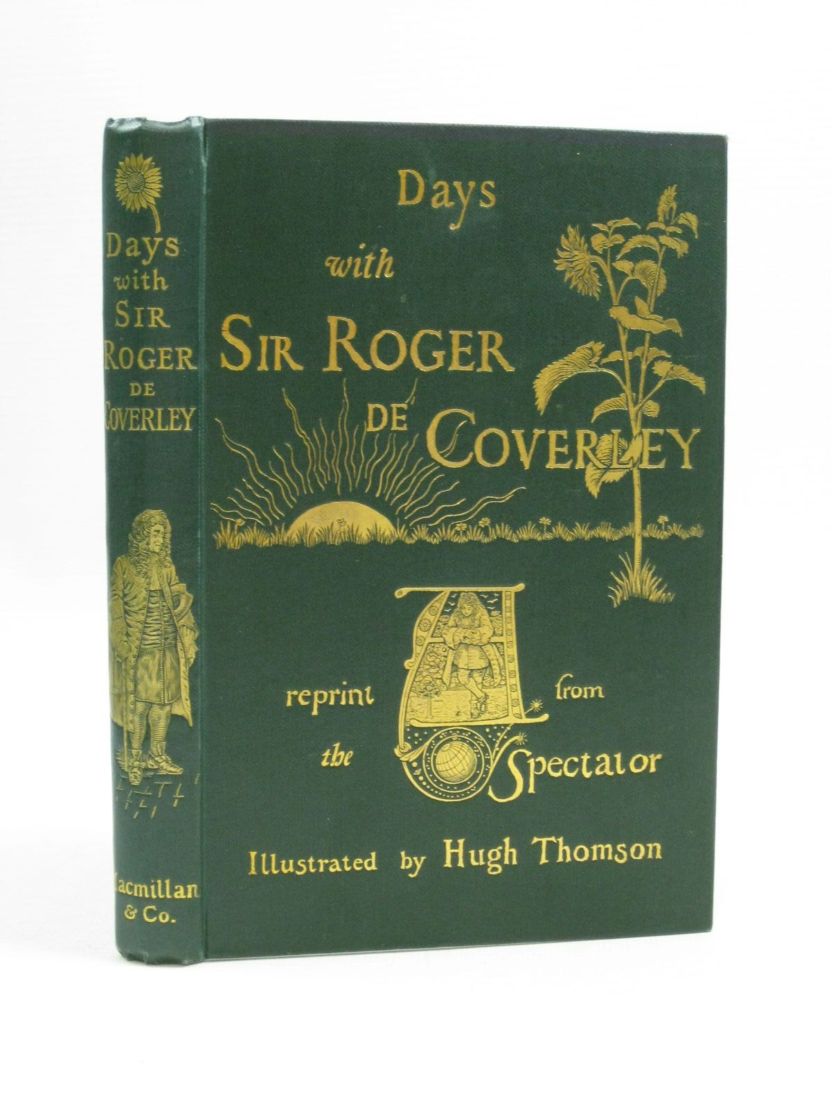 Photo of DAYS WITH SIR ROGER DE COVERLEY illustrated by Thomson, Hugh published by Macmillan & Co. (STOCK CODE: 1505019)  for sale by Stella & Rose's Books