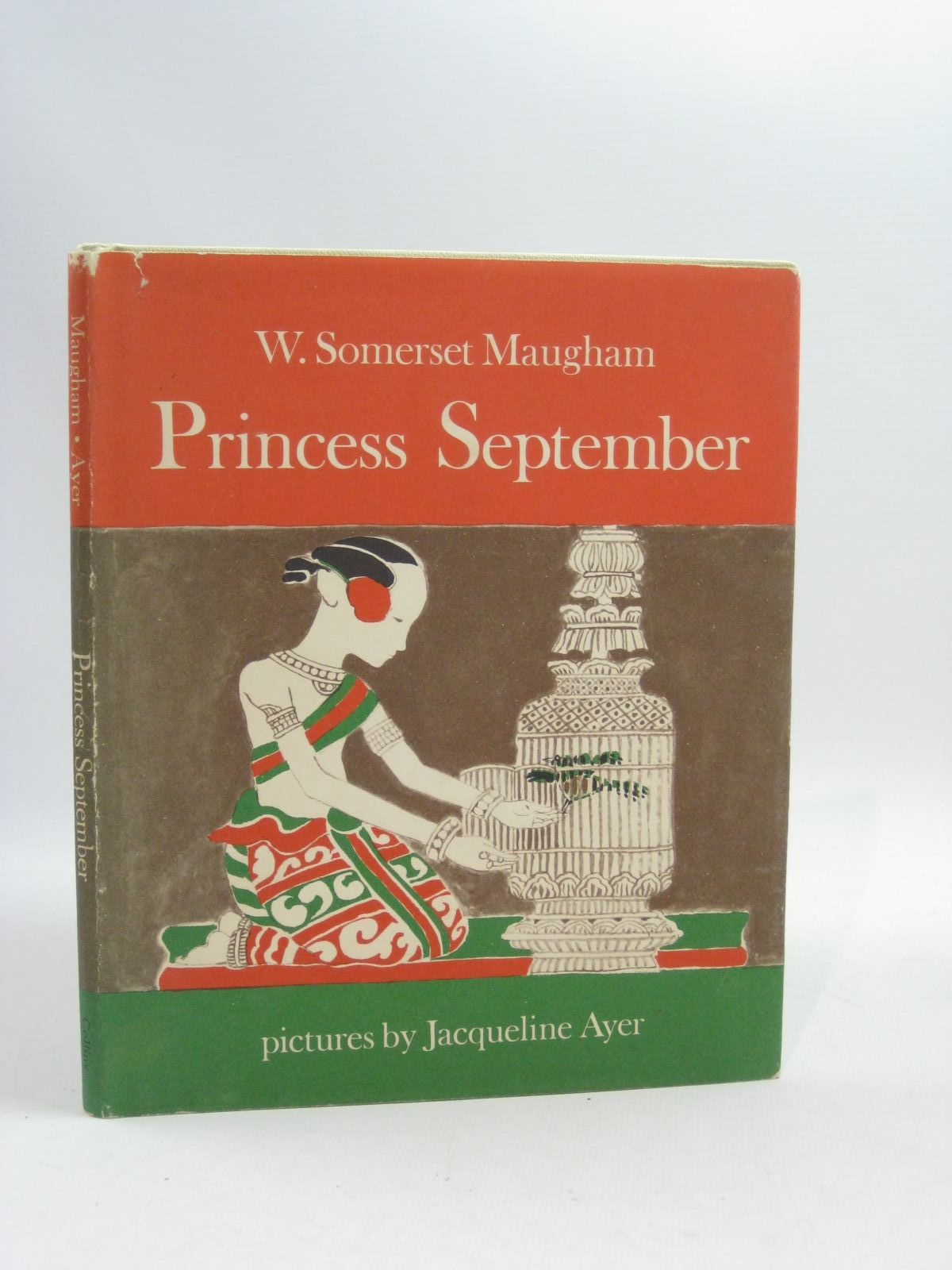 Photo of PRINCESS SEPTEMBER written by Maugham, W. Somerset illustrated by Ayer, Jacqueline published by Collins (STOCK CODE: 1505060)  for sale by Stella & Rose's Books