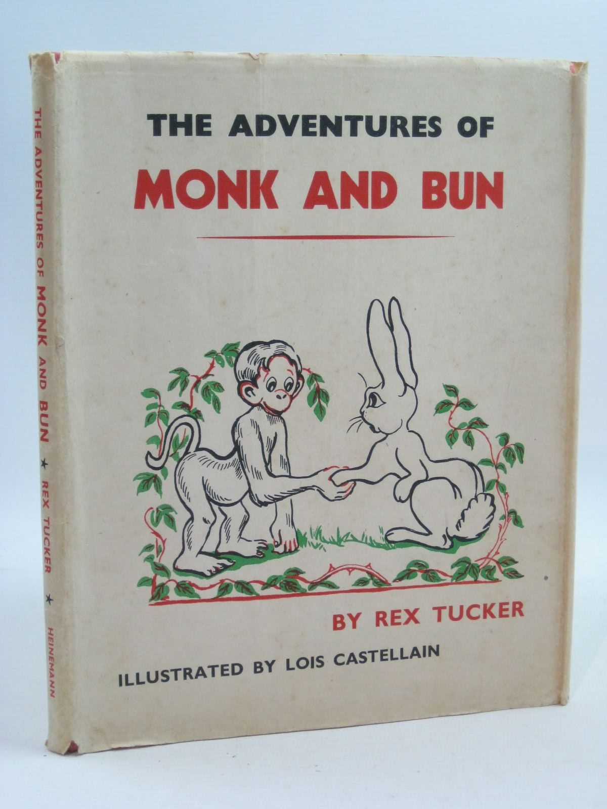 Photo of THE ADVENTURES OF MONK AND BUN written by Tucker, Rex illustrated by Castellain, Lois published by William Heinemann Ltd. (STOCK CODE: 1505062)  for sale by Stella & Rose's Books